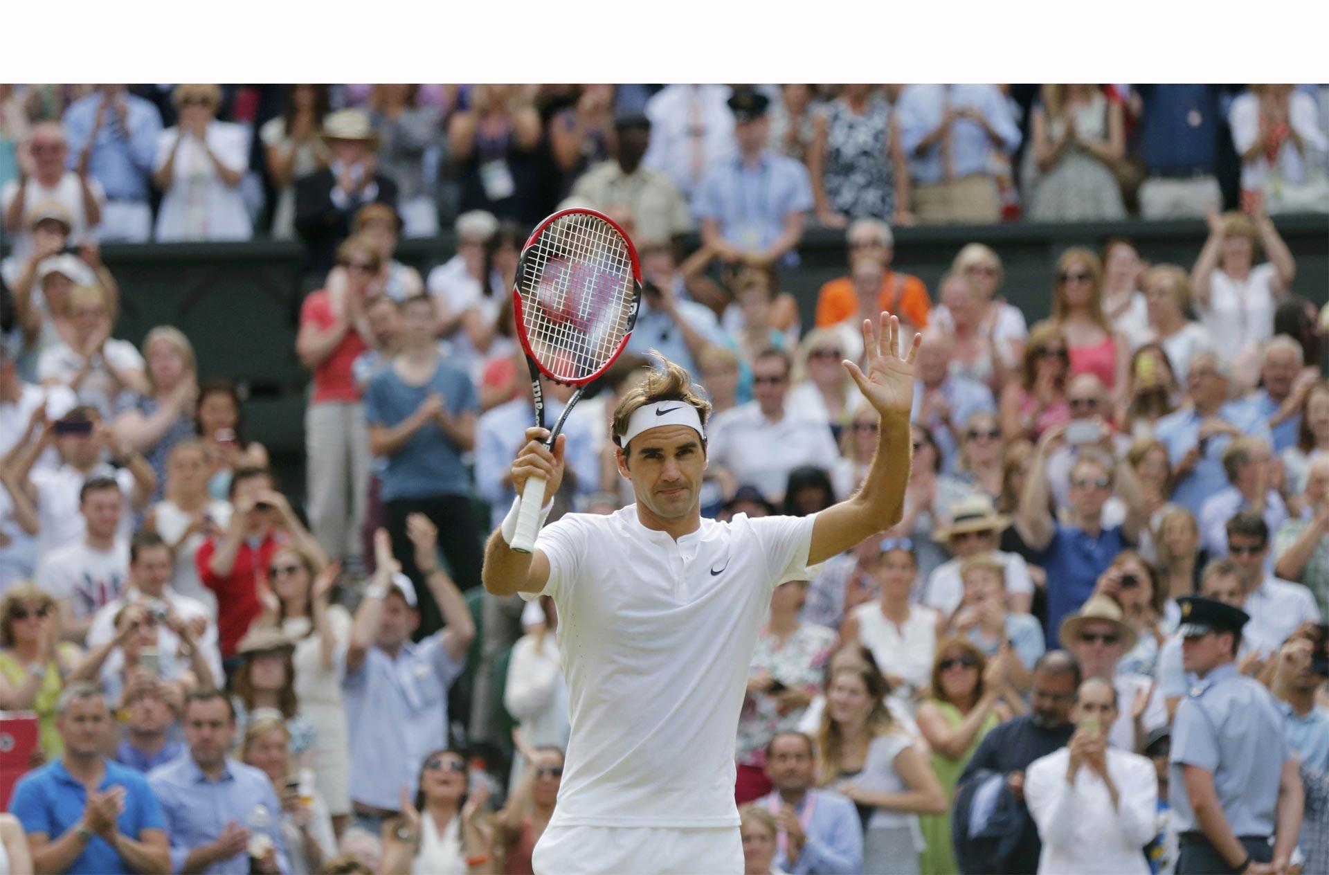 La final de Wimbledon enfrentará al número uno y dos del tenis, Djokovic y Federer