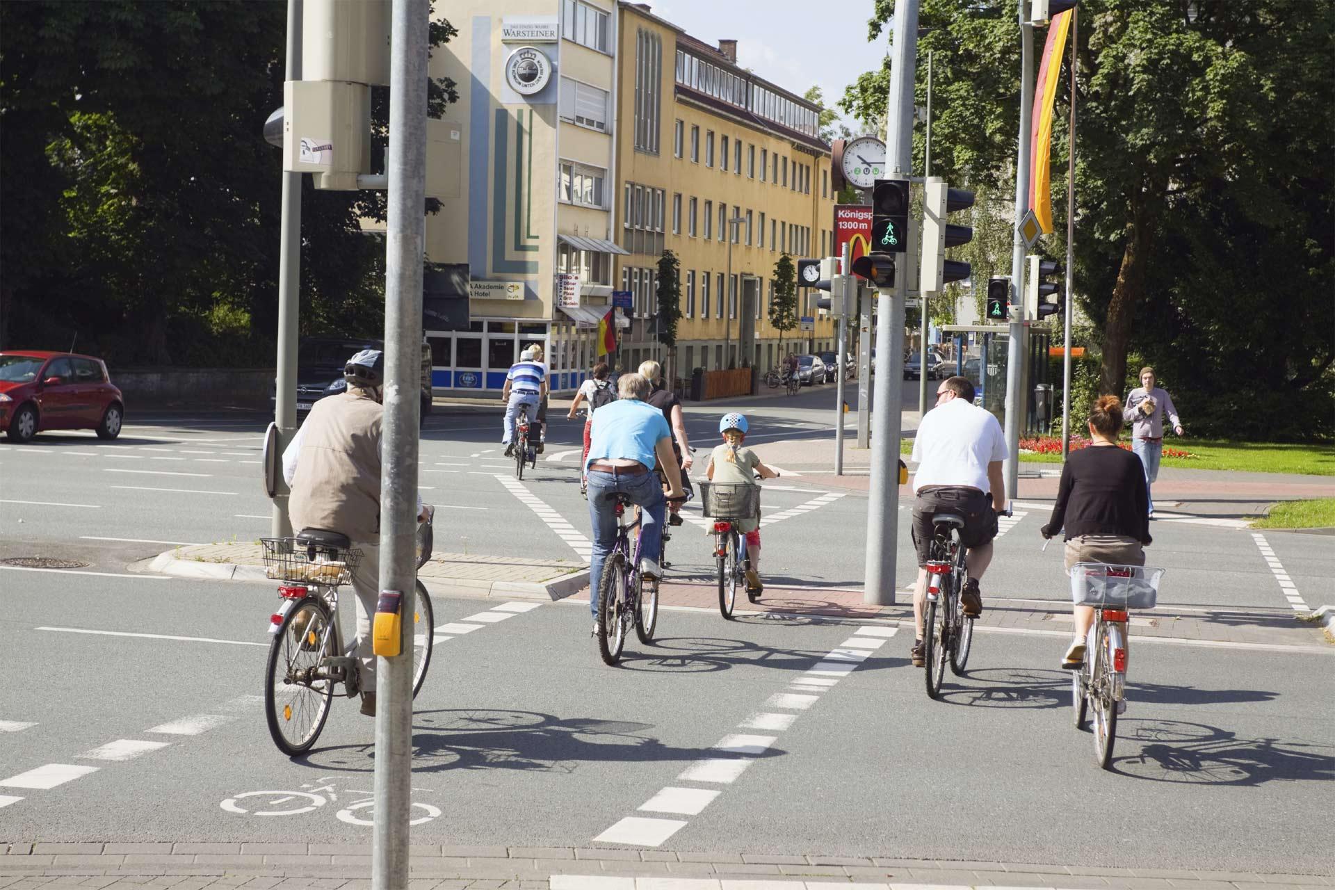 El objetivo es impulsar el uso de las bicicletas como un medio de transporte