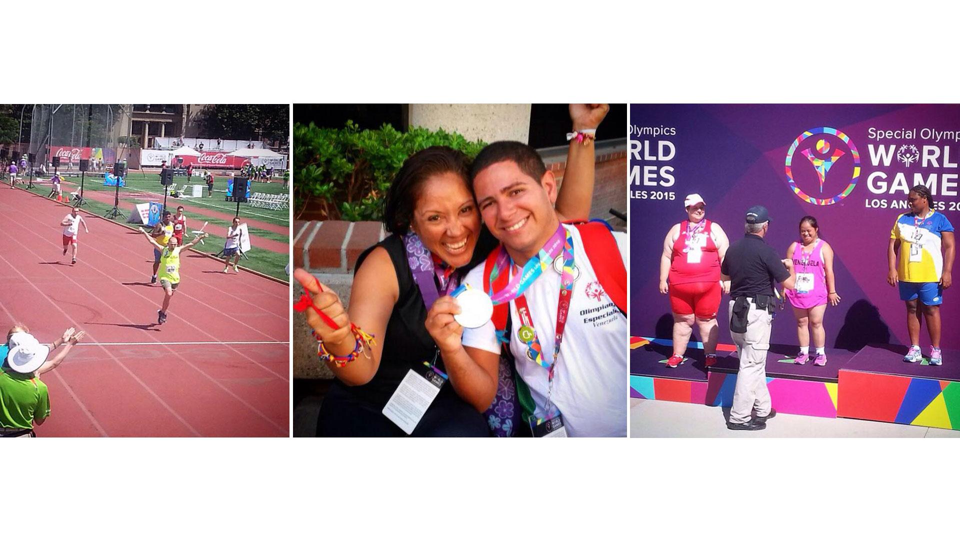 Fridgerl Medina fue uno de los que sumó un oro más en 25 metros libres de las Olimpiadas Especiales
