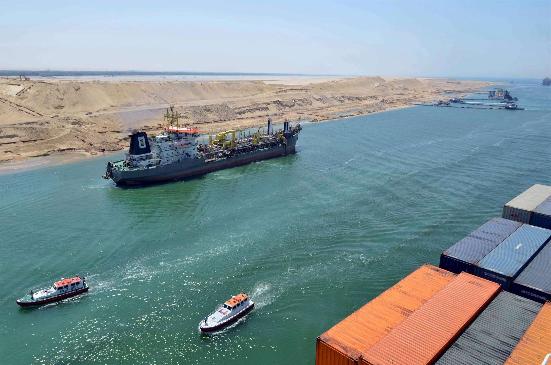 Mañana será inaugurado un nuevo tramo navegable que ayudará a levantar la economía egipcia