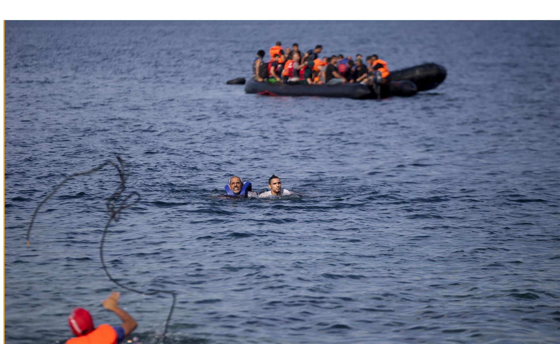 La comunidad internacional se mantiene solidaria con las personas que huyen de la guerra y la violencia