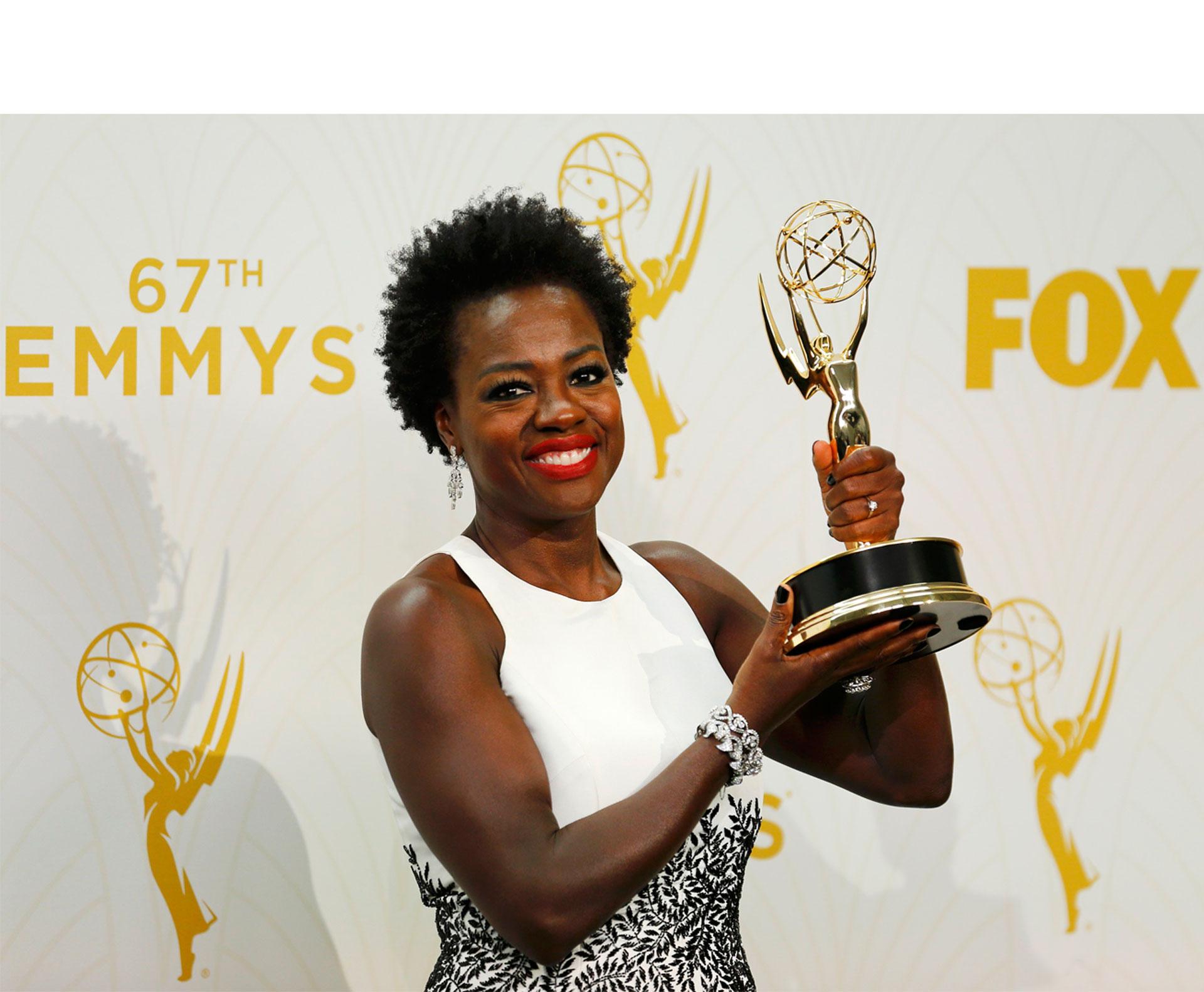 Conoce los ganadores de los Emmy de este año, empezando por Viola Davis, quien hizo historia en los premios