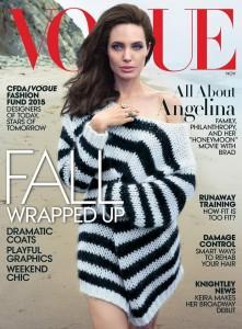 Angelina Jolie en la portada de Vogue