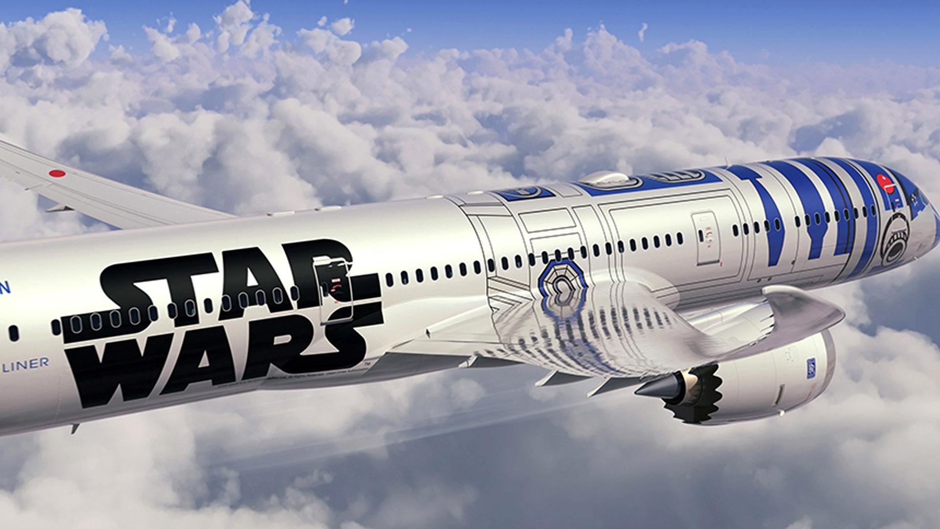 Tres aeronaves tematizadas de la famosa saga cubrirán varias rutas internacionales a finales de este año