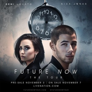 Imagen promocional de The Future Now Tour