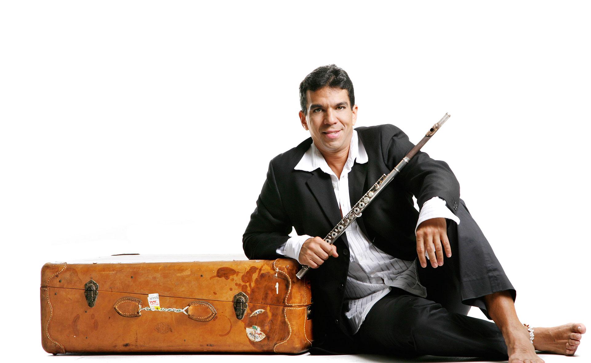 El flautista zuliano se presentará gratis el sábado 19 de diciembre junto con Betulio Medina, Ozias Acosta, Daniel Somaroo y Lucía Valentina
