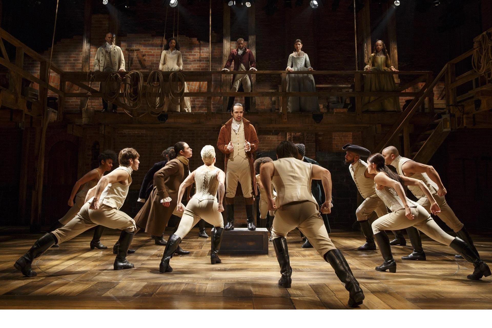 """""""Hamilton"""", presentado en Broadway, ha sido responsable de más de un millón de tuits y millones de dólares en venta de entradas"""