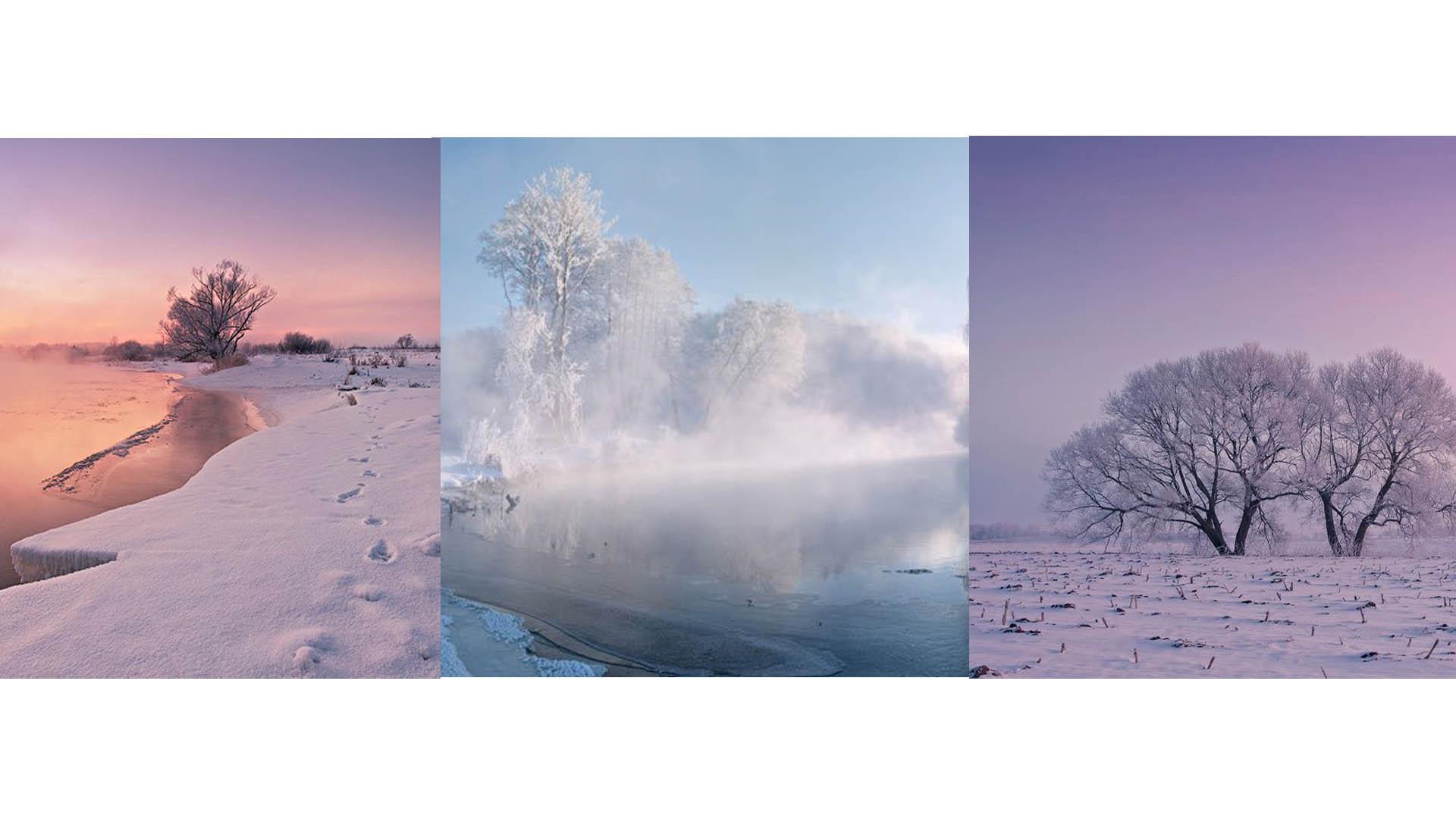 A través de Instagram un joven fotógrafo expone la belleza invernal de su país natal