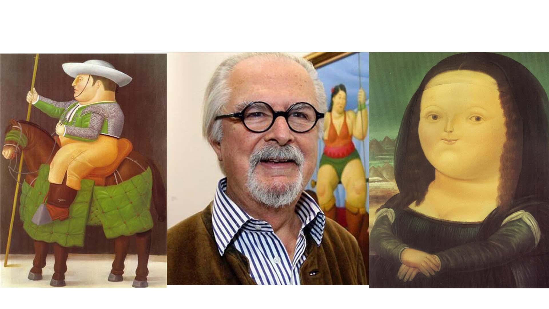 Las obras del pintor y escultor colombiano Fernando Botero están disponibles en una exposición en el Museo de Arte de Shanghái