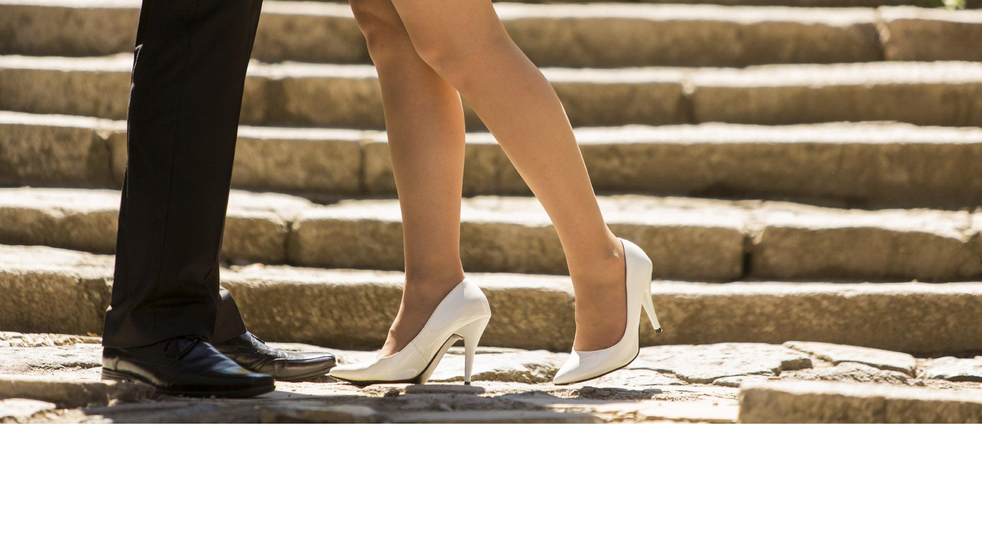 """El famoso diseñador Jimmy Choo estrenó su colección de calzado nupcial """"Bridal"""""""