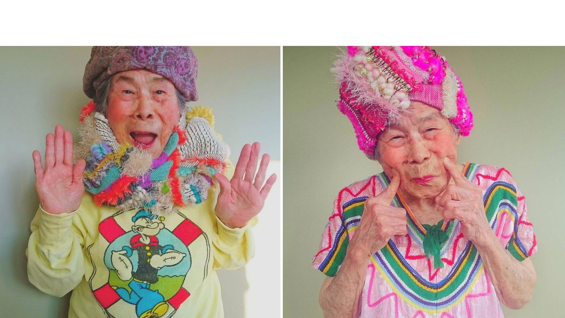 Esta abuela se convirtió en modelo luego de que su nieta tejiera unas prendas. Su personalidad y carisma la catapultaron a la fama en redes sociales