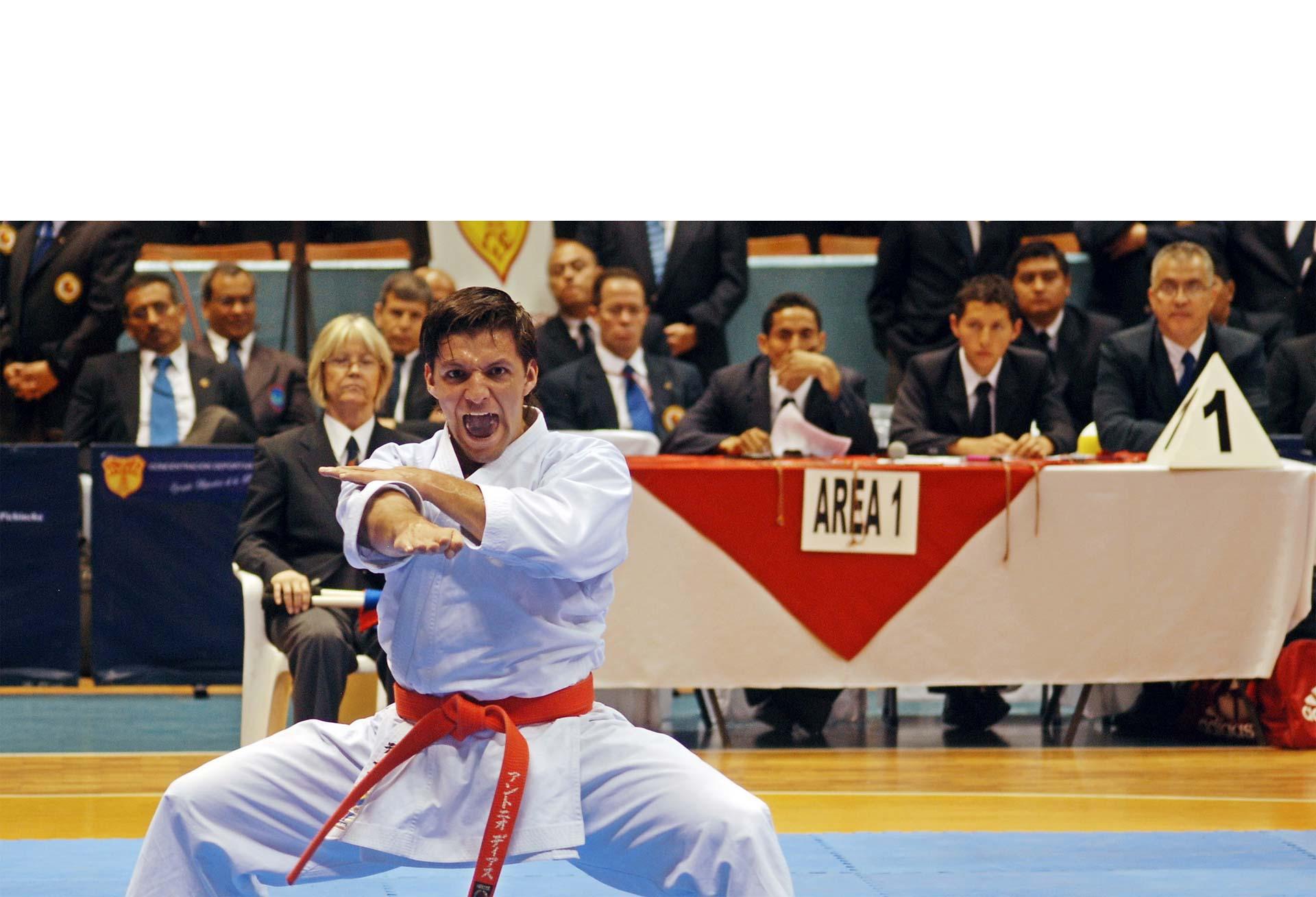 El karateka criollo se prepara para el Open de París y tiene la mira puesta, a largo plazo, en el Campeonato Mundial