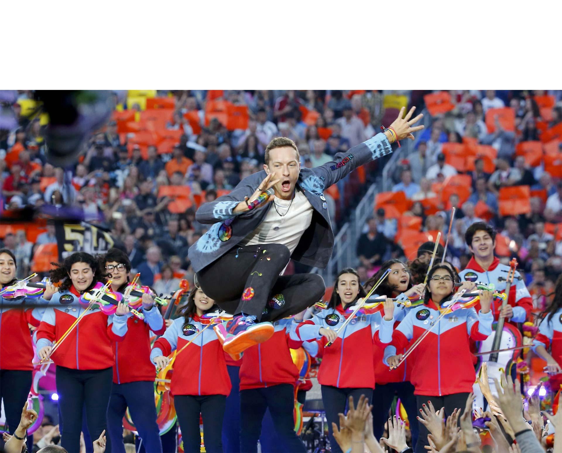 Coldplay, Beyonce y Bruno Mars animaron el show del medio tiempo, que contó con la participación del venezolano Gustavo Dudamel