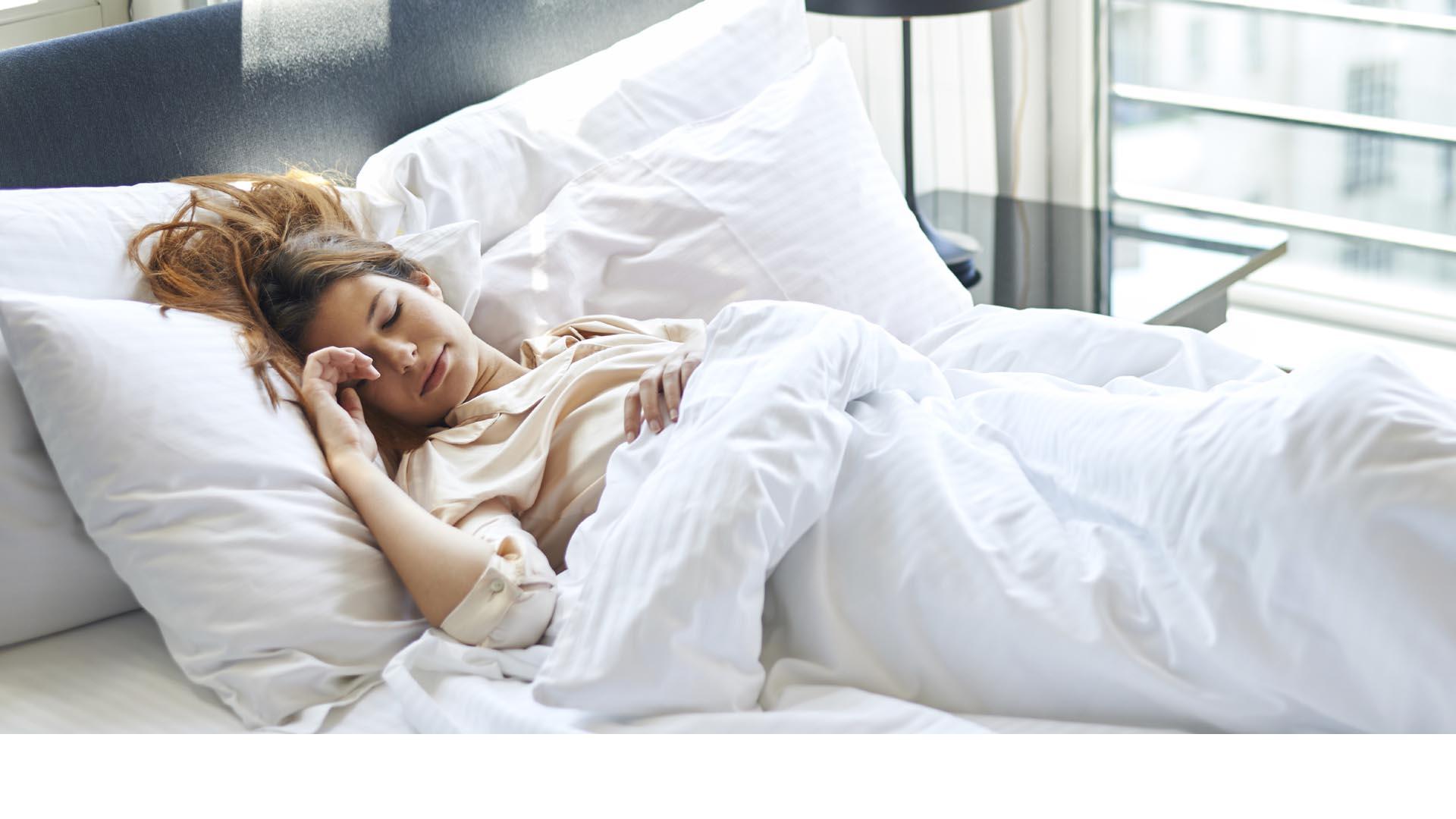 Según estudios, uno de cada tres adultos estadounidenses no duerme lo suficiente y casi el mismo porcentaje son obesos