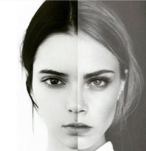 La simetría es el elemento principal que las grandes marcas buscan en las modelos