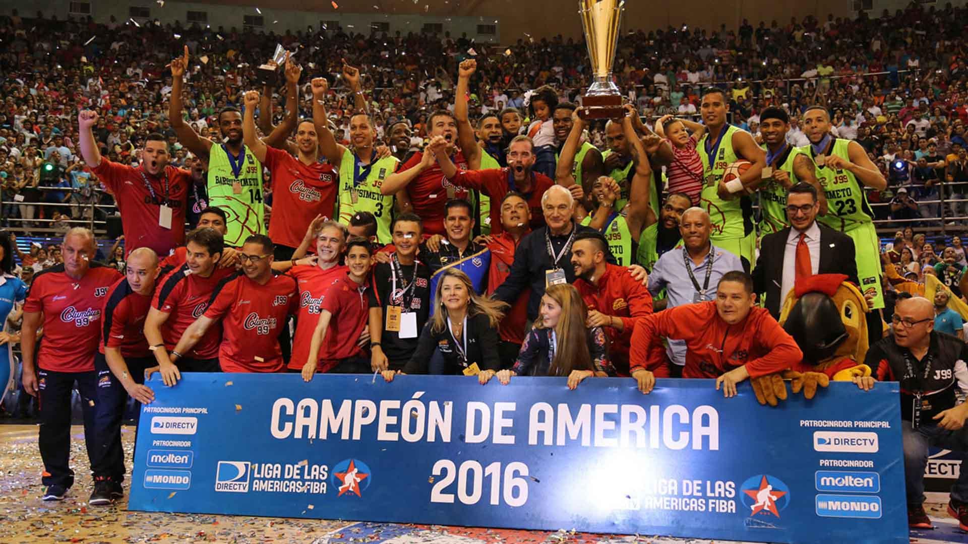 Gracias al título alcanzado por Guaros de Lara, la LPB tendrá un pase adicional para el torneo de 2017