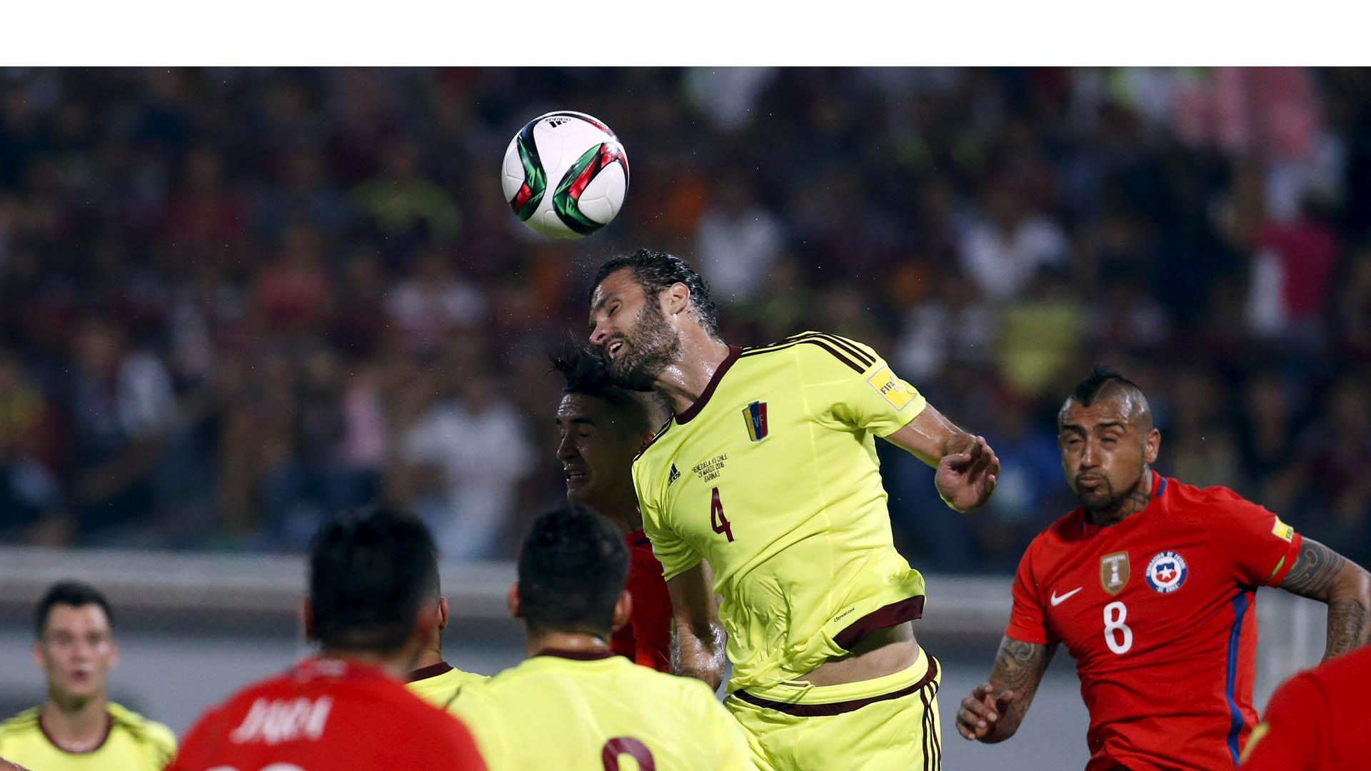 El único gol de la Vinotinto lo marcó Rómulo Otero