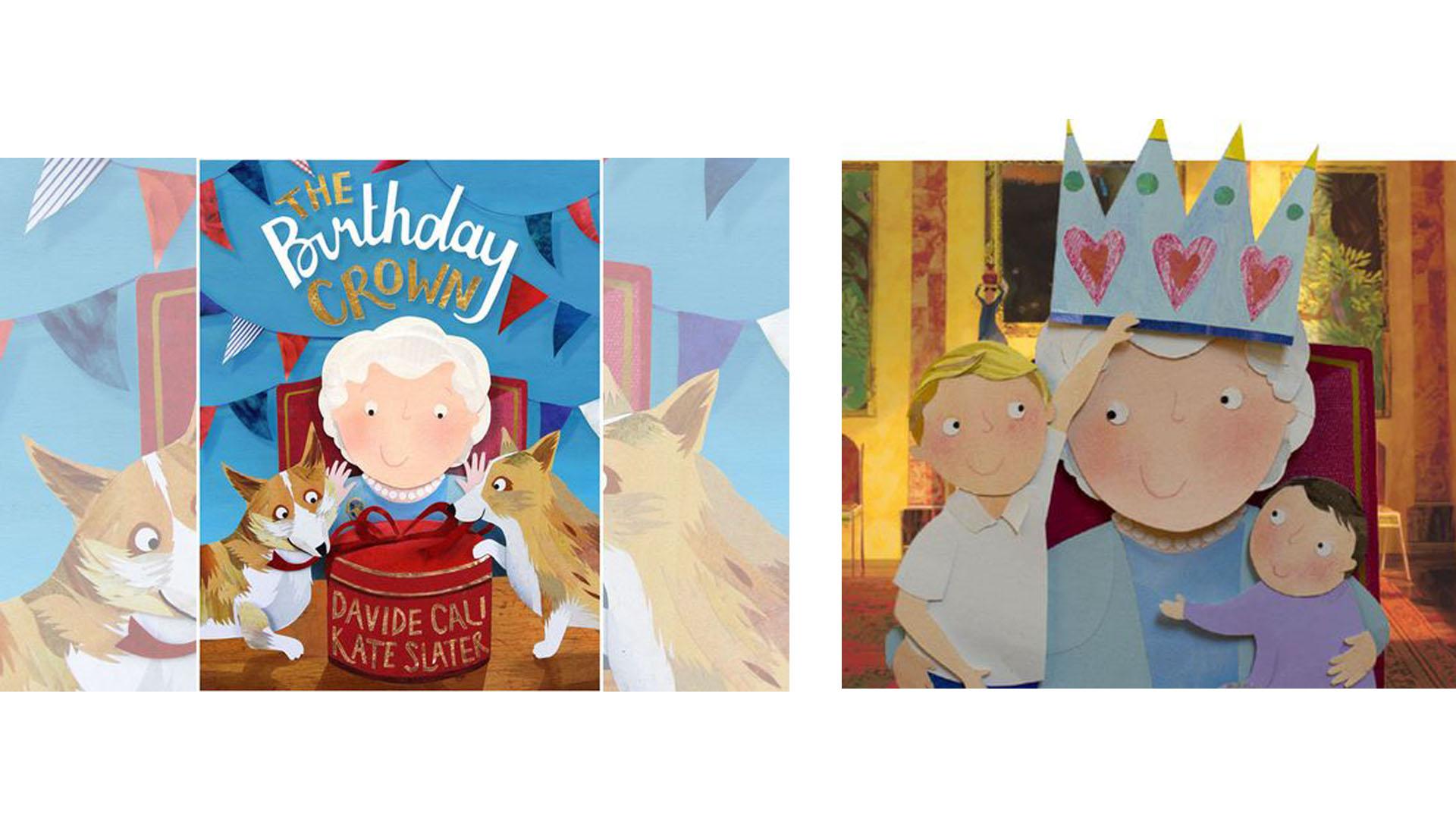 En el marco de su cumpleaños 90, el próximo 21 de abril, la monarca es la protagonista de un libro infantil