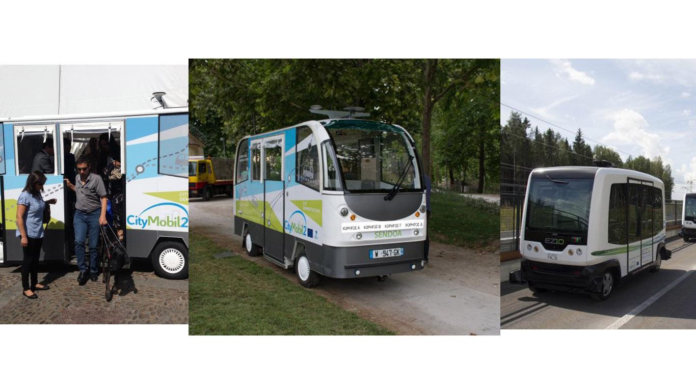 La ciudad de San Sebastián forma parte del proyecto europeo CityMobil2, en el cual se va rotando el uso de estos vehículos en varias urbes