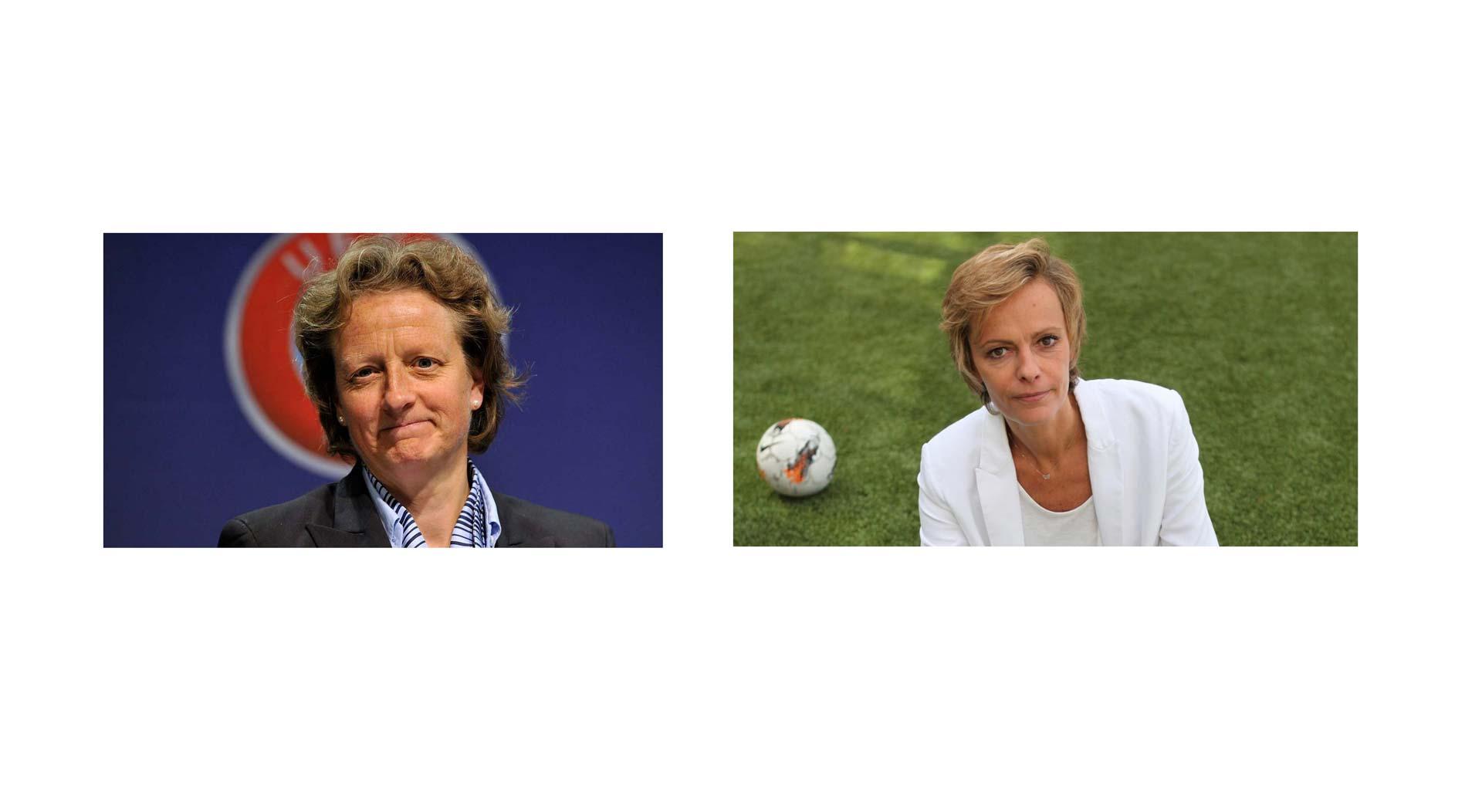 UEFA ya tiene a sus dos candidatas para la primera elección de una fémina en el comité ejecutivo del ente rector del fútbol europeo