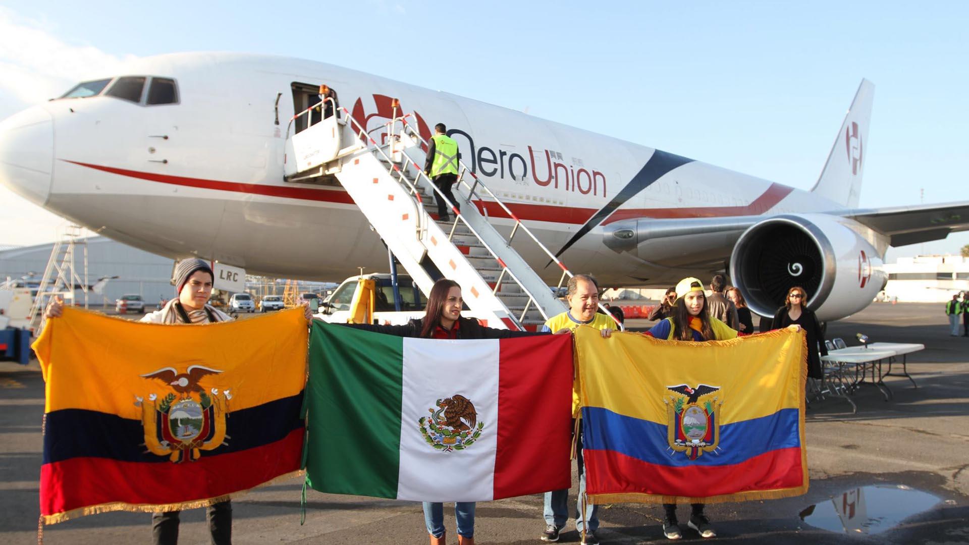 Ecuador ha recibido ayuda humanitaria para tratar de solventar los grandes problemas que afronta