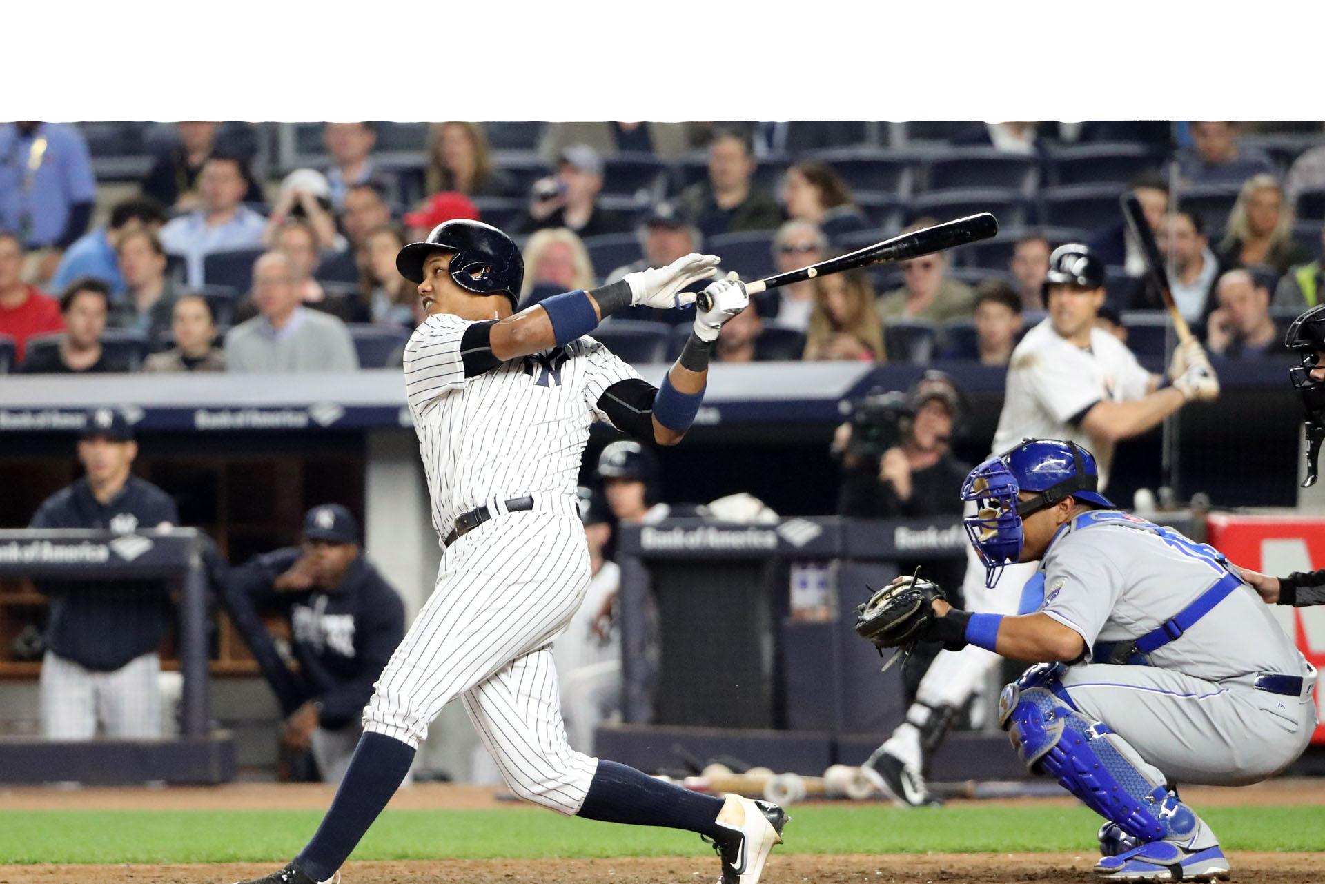Yankees derrotaron a los Reales