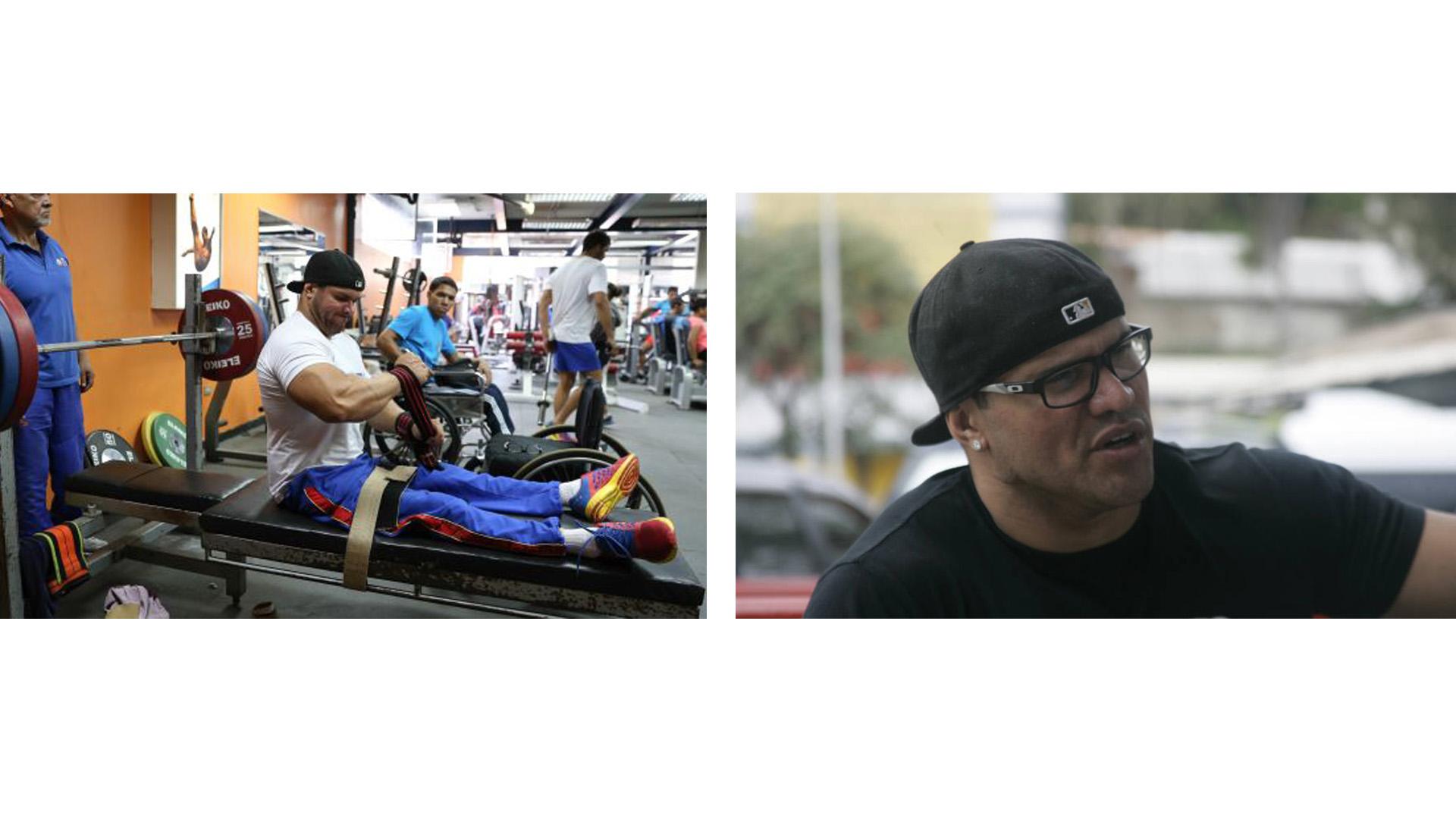 A sus 36 años el atleta paralímpico es un ejemplo para las personas que se encuentran en su condición