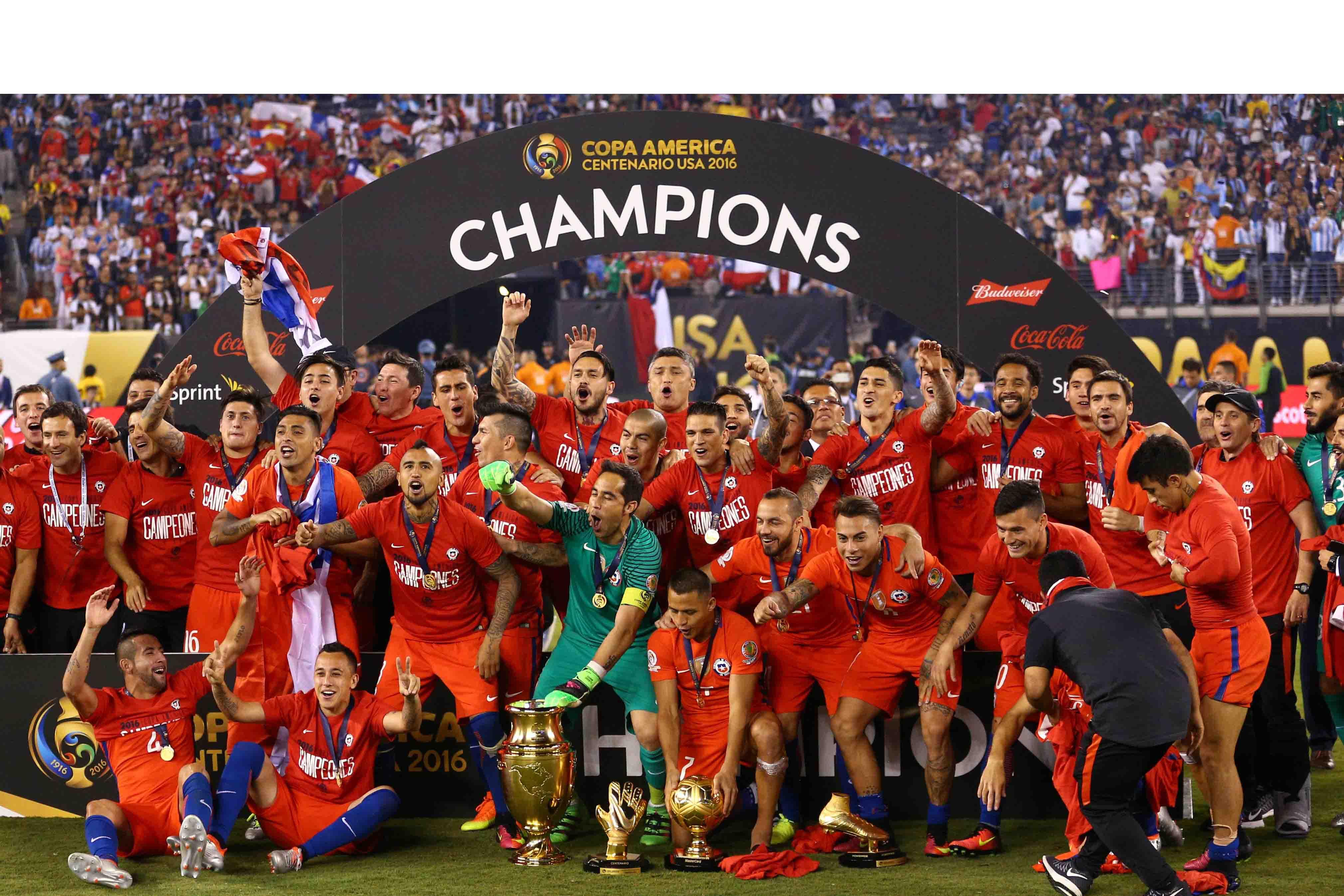 La Roja se llevo su segunda Copa frente a Argentina nuevamente en penales, ratificándose como la mejor de América