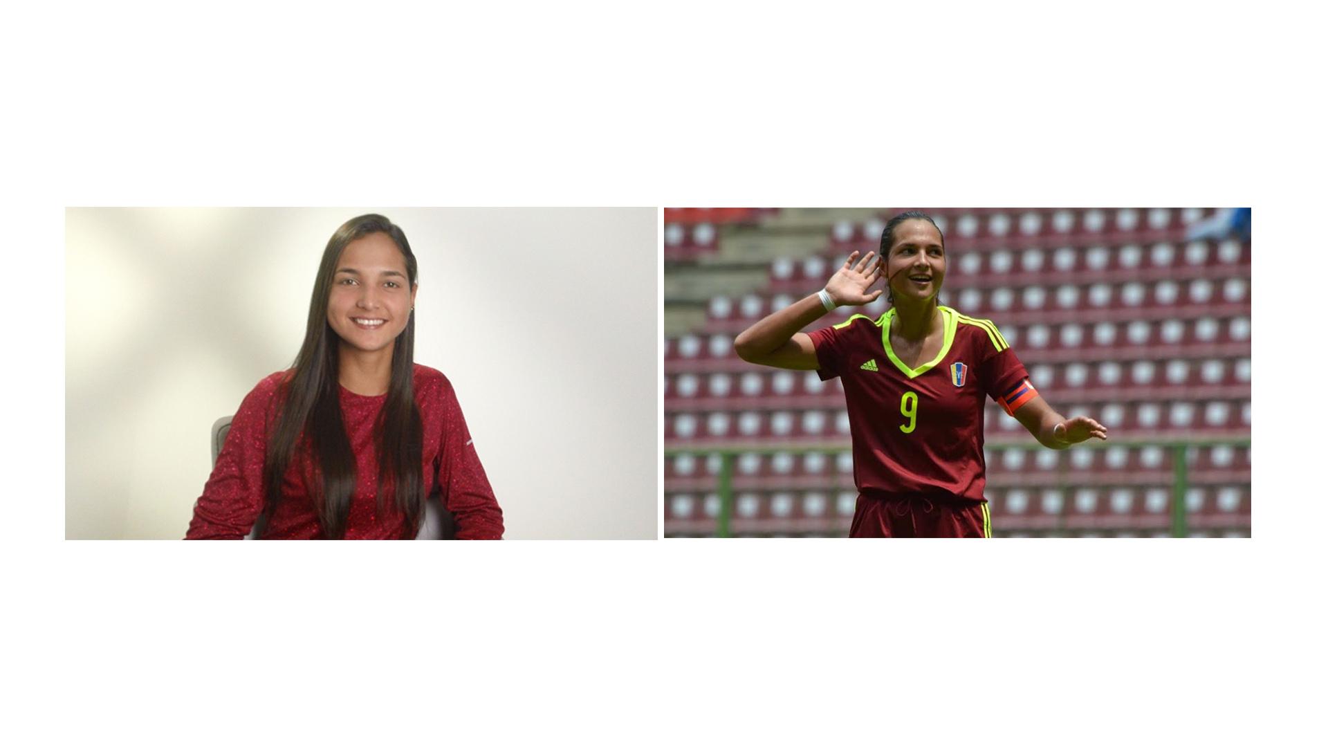 La venezolana tras una gran actuación a nivel futbolístico la hicieron acreedoras de premios y una beca deportiva que la llevara a Florida