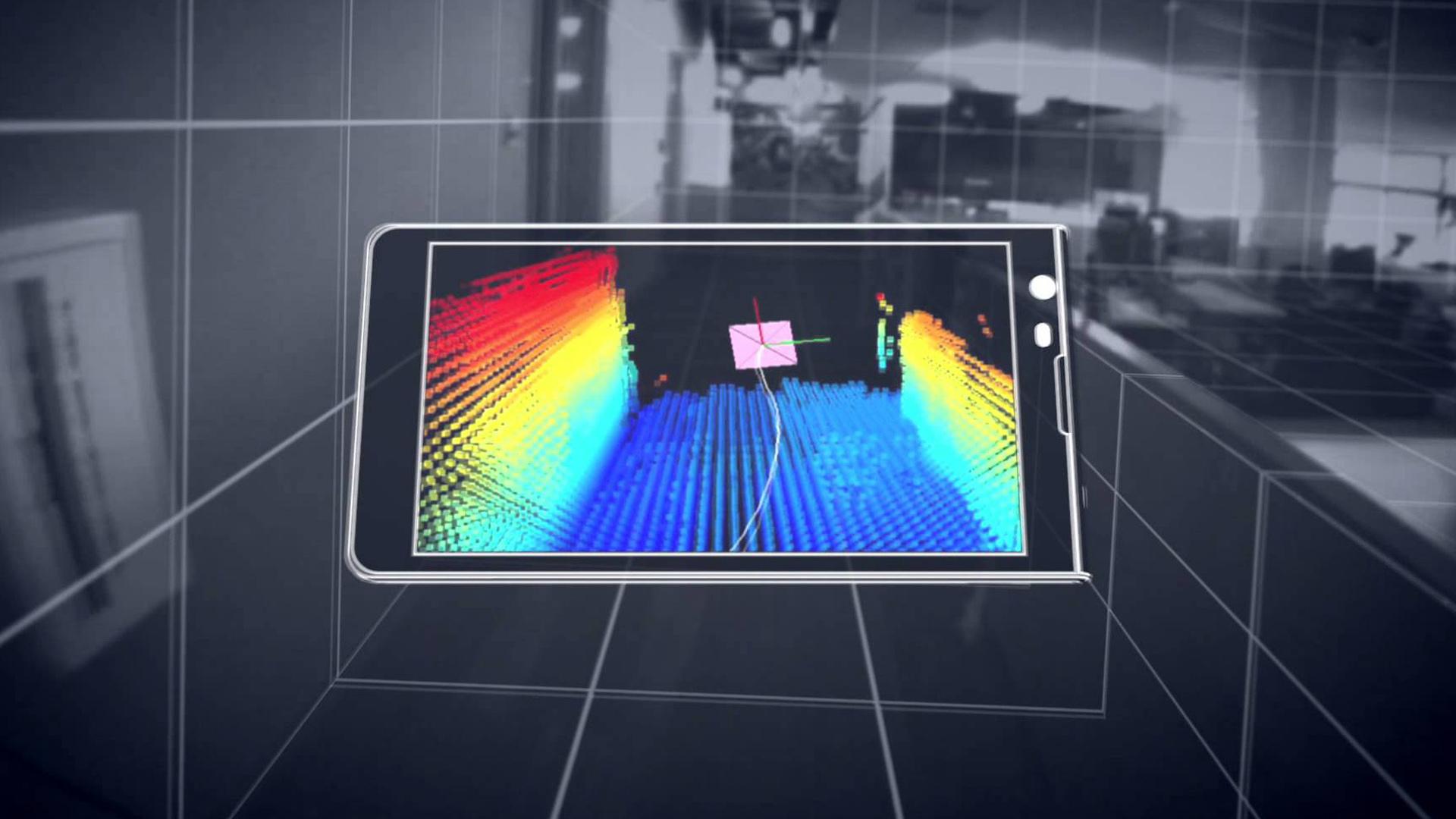 App Tango llega a los smartphones