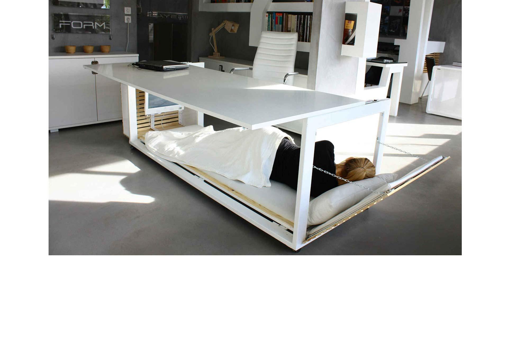 Algunas empresas que ya cuentan con salones para siestas, en los que sus empleados pueden recuperar energías