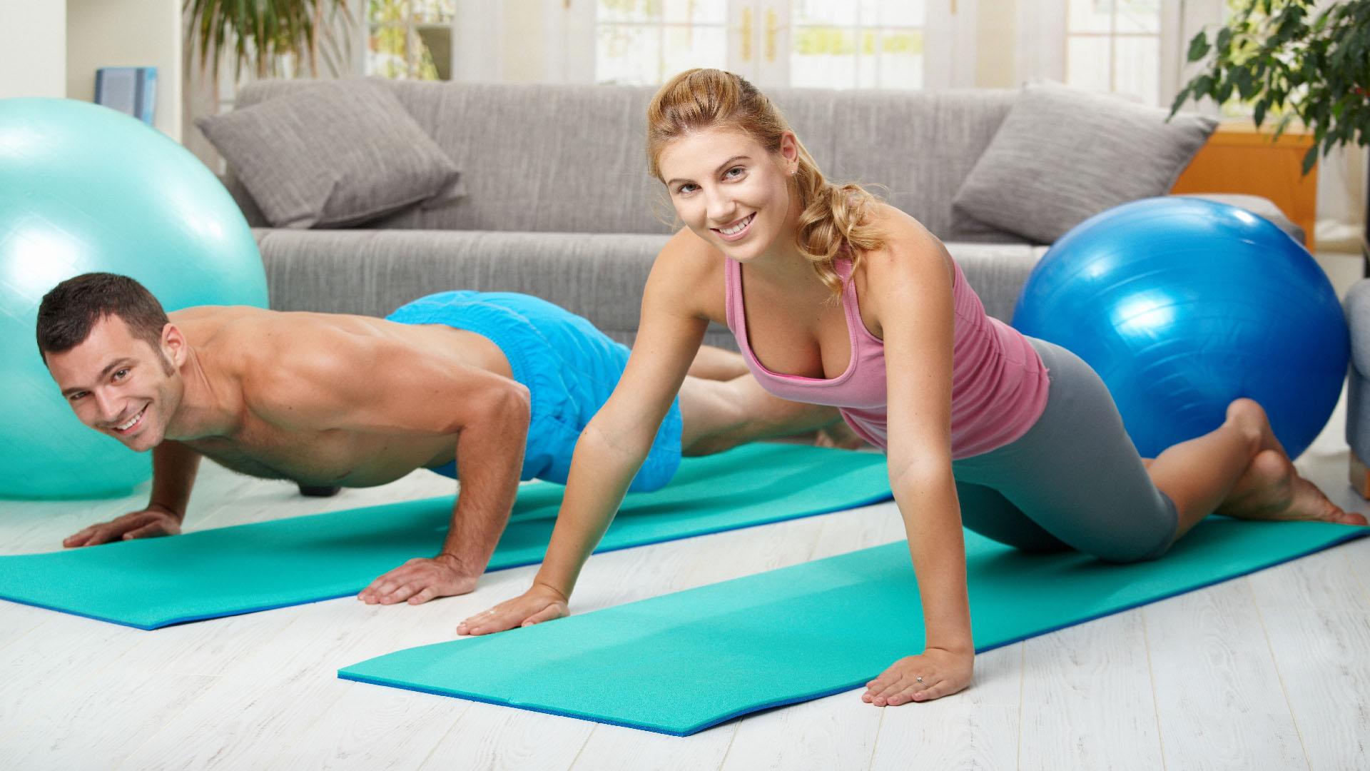 Con una efectiva rutina de ejercicios y una buena alimentación se pueden lograr excelentes resultados
