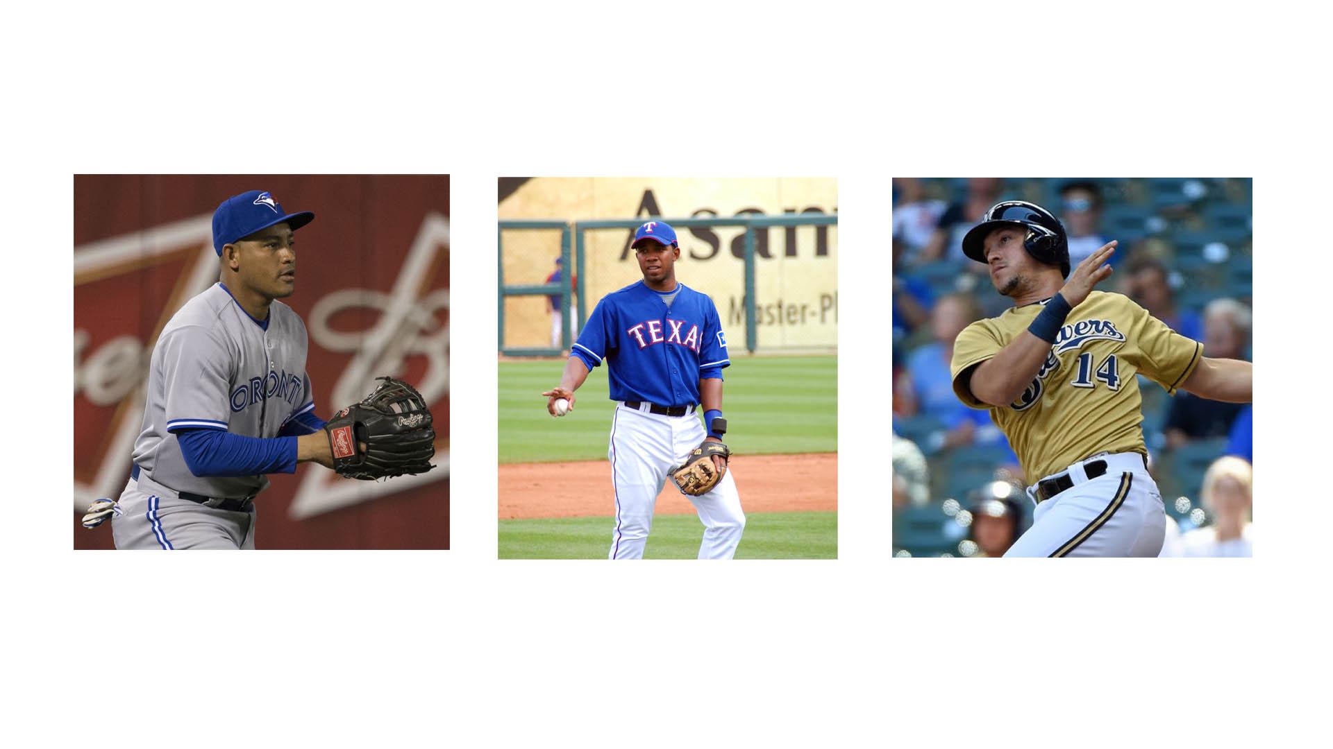 Elvis Andru, Ezequiel Carrera y Hernán Pérez fueron alguno de los bates venezolanos que ayudaron a sus equipos en las victoriaas