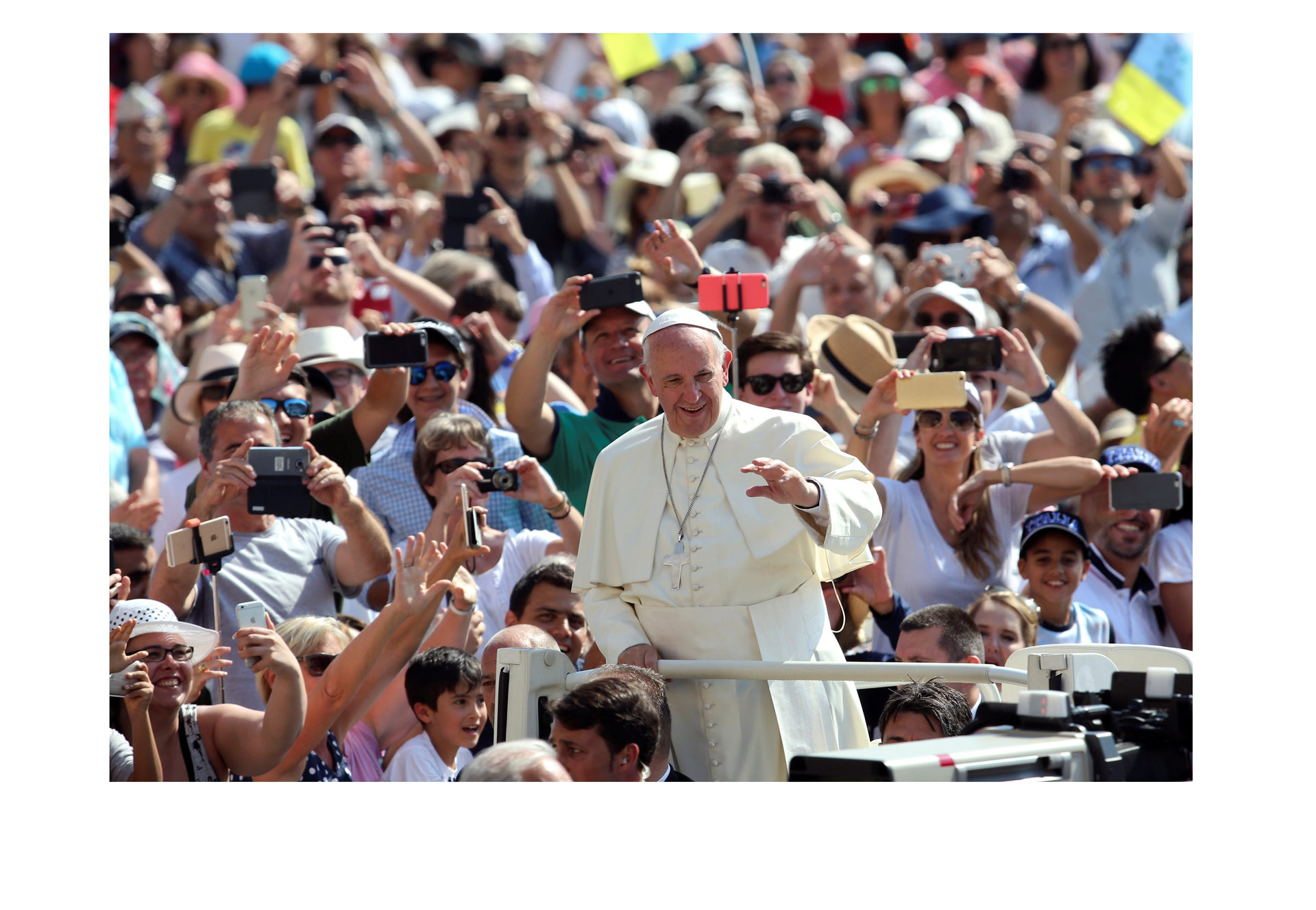 Durante tres días se realizarán oraciones en diferentes templos, en el aniversario del viaje del Papa