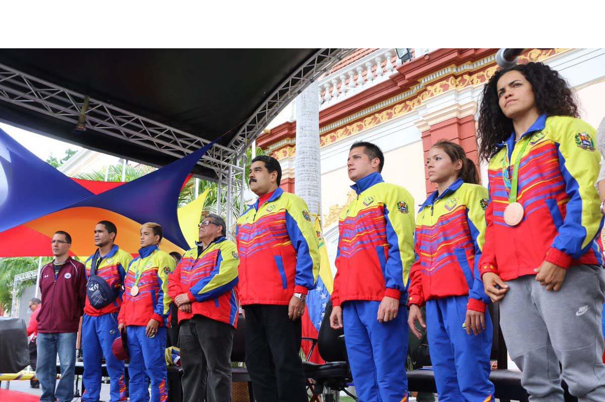 El presidente de Venezuela dio a conocer que las bonificaciones se darán de acuerdo al nivel de clasificación que tuvieron los deportistas