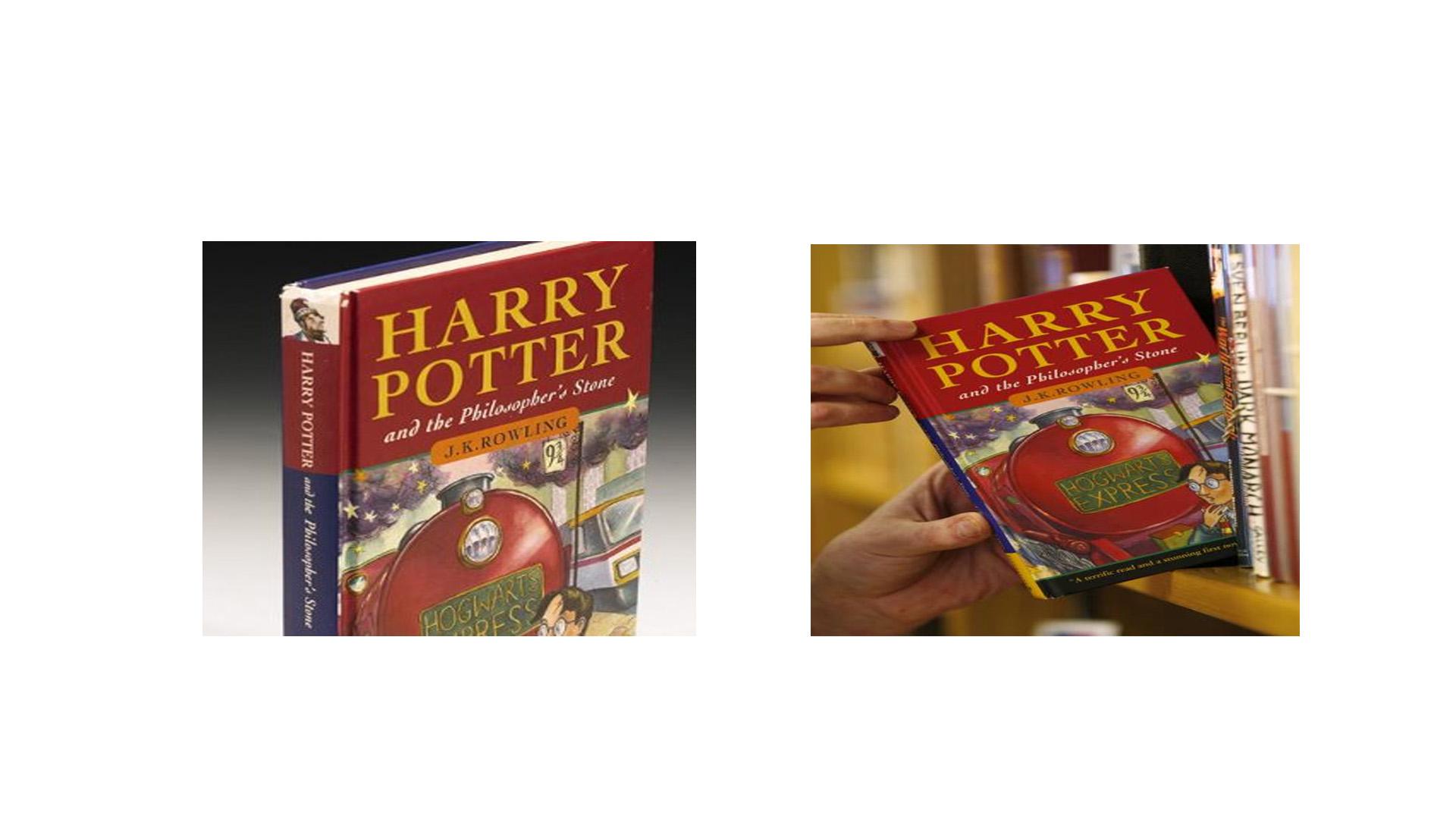 """Un ejemplar de la primera edición de """"Harry Potter y la piedra filosofal"""", la cual contiene un fallo, será subastado en Londres"""