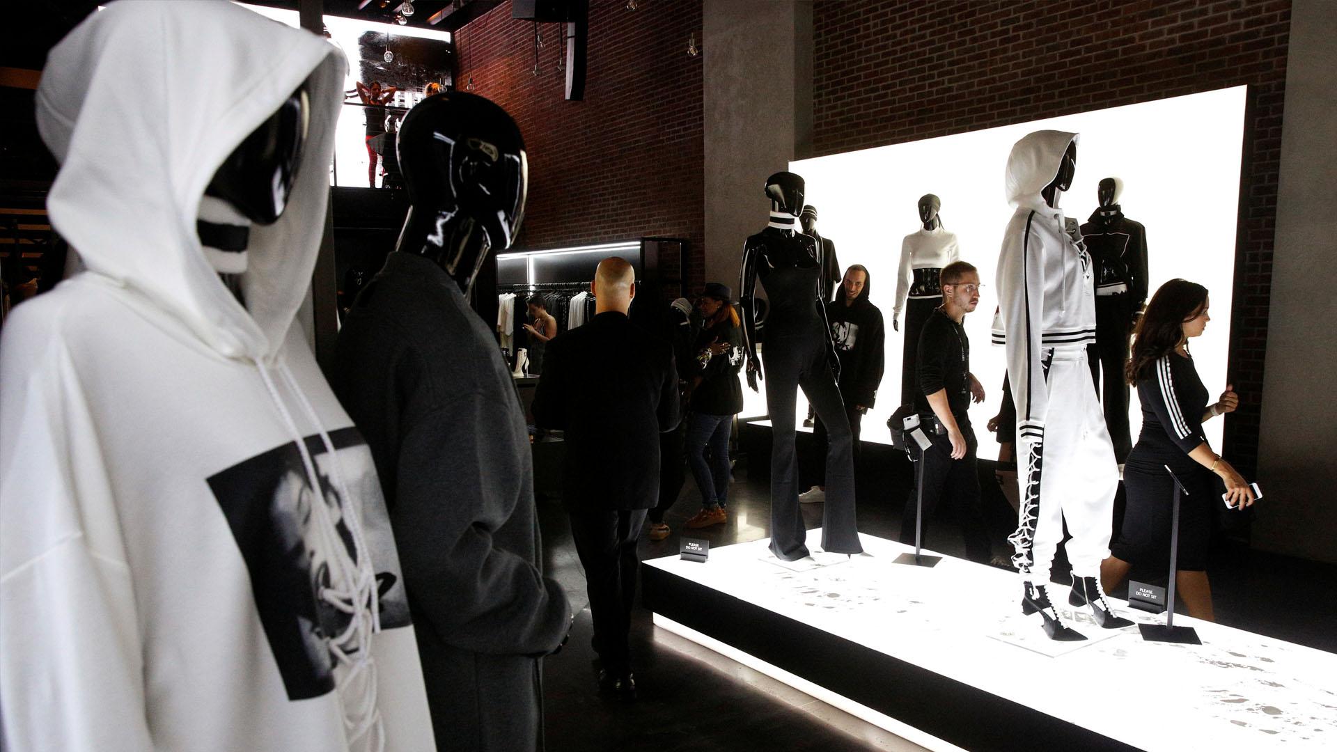 """La línea """"Fanty"""" es la primera colección de ropa deportiva y fue diseñada para la marca Puma"""