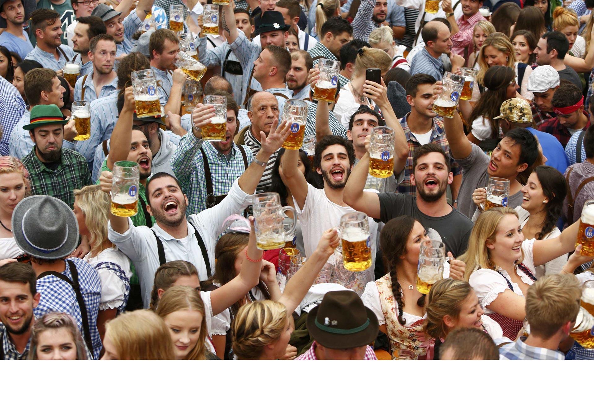 Múnich festeja a la cerveza