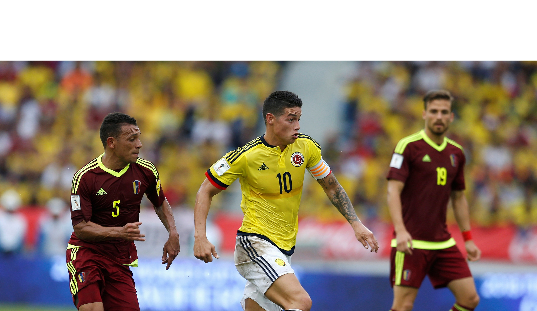 Colombia fue superior a la Vinotinto