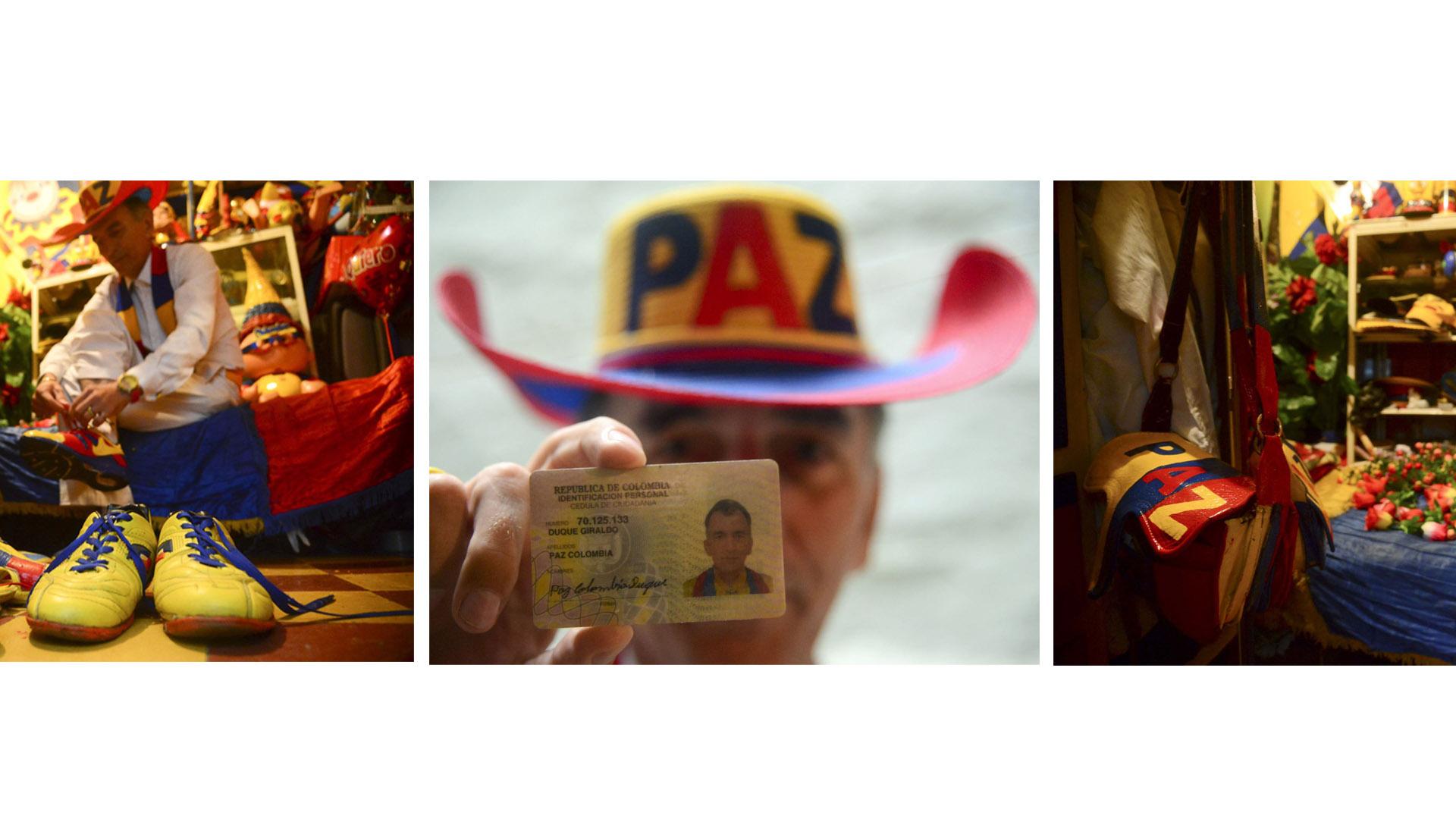 Paz Colombia ahora es el nombre de un luchador por la reconciliación nacional
