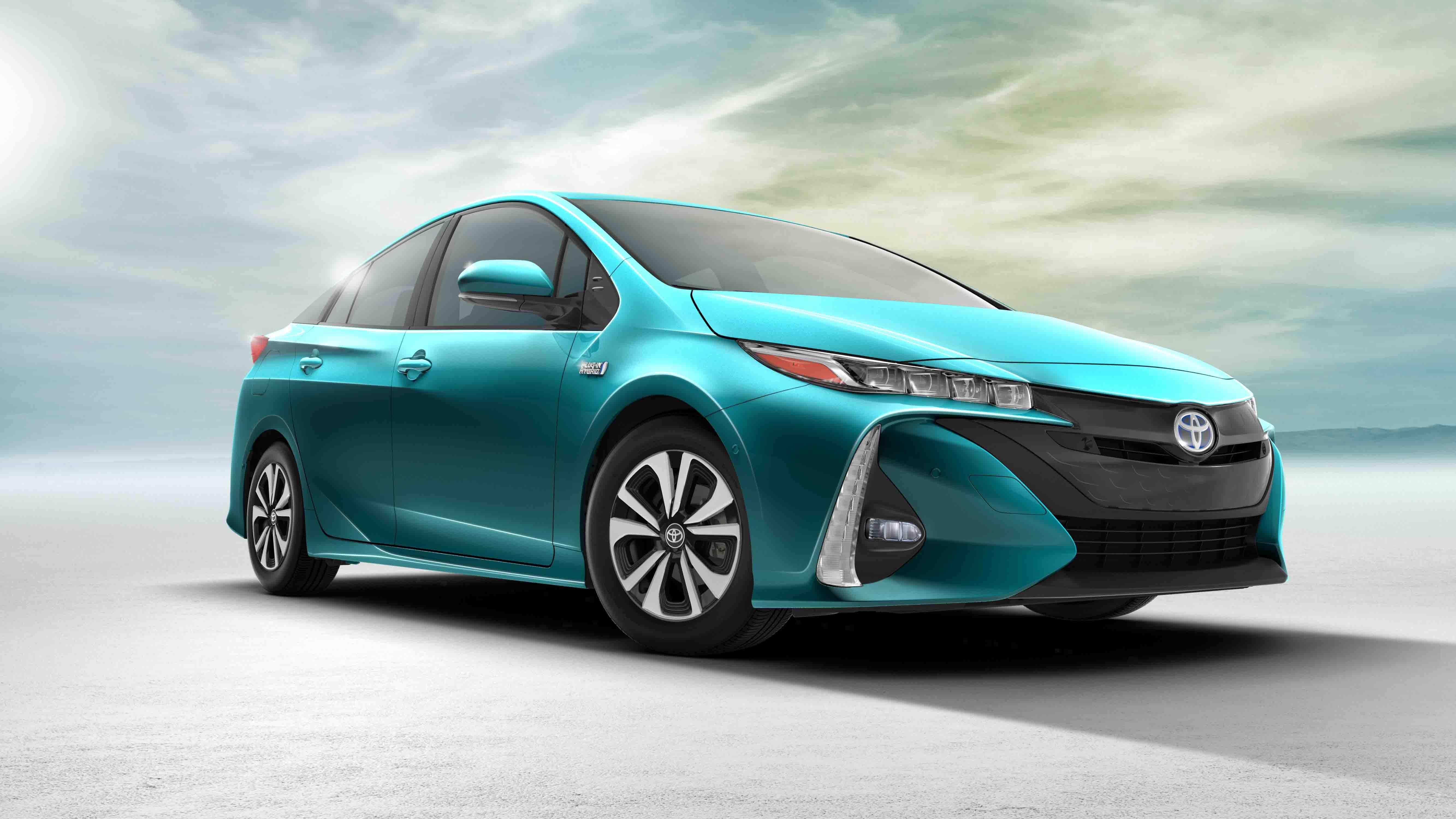 Prius vehículo híbrido de Toyota