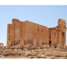 Roma reconstruye monumentos sirios