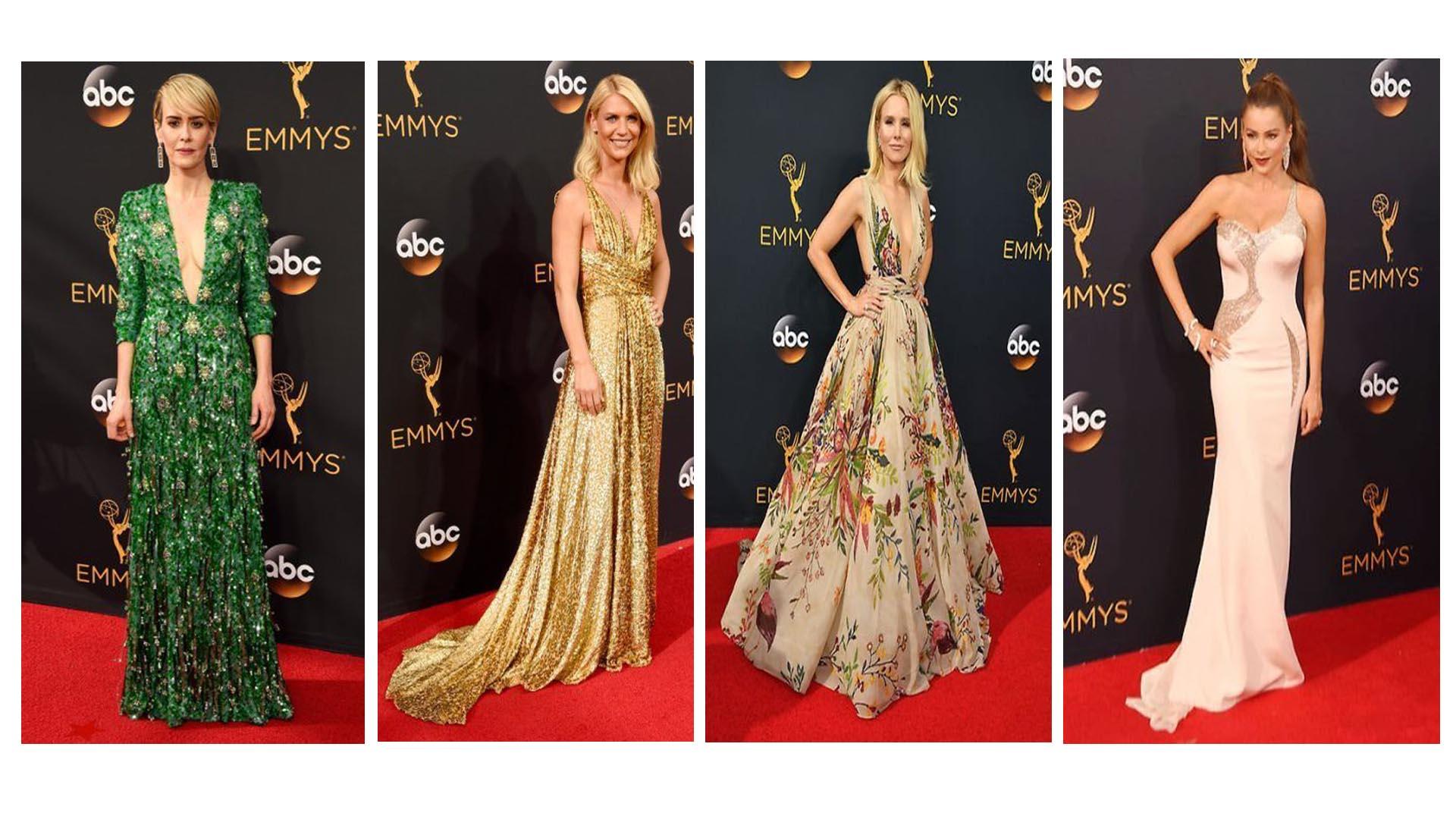 Las mejores vestidas de los Emmy