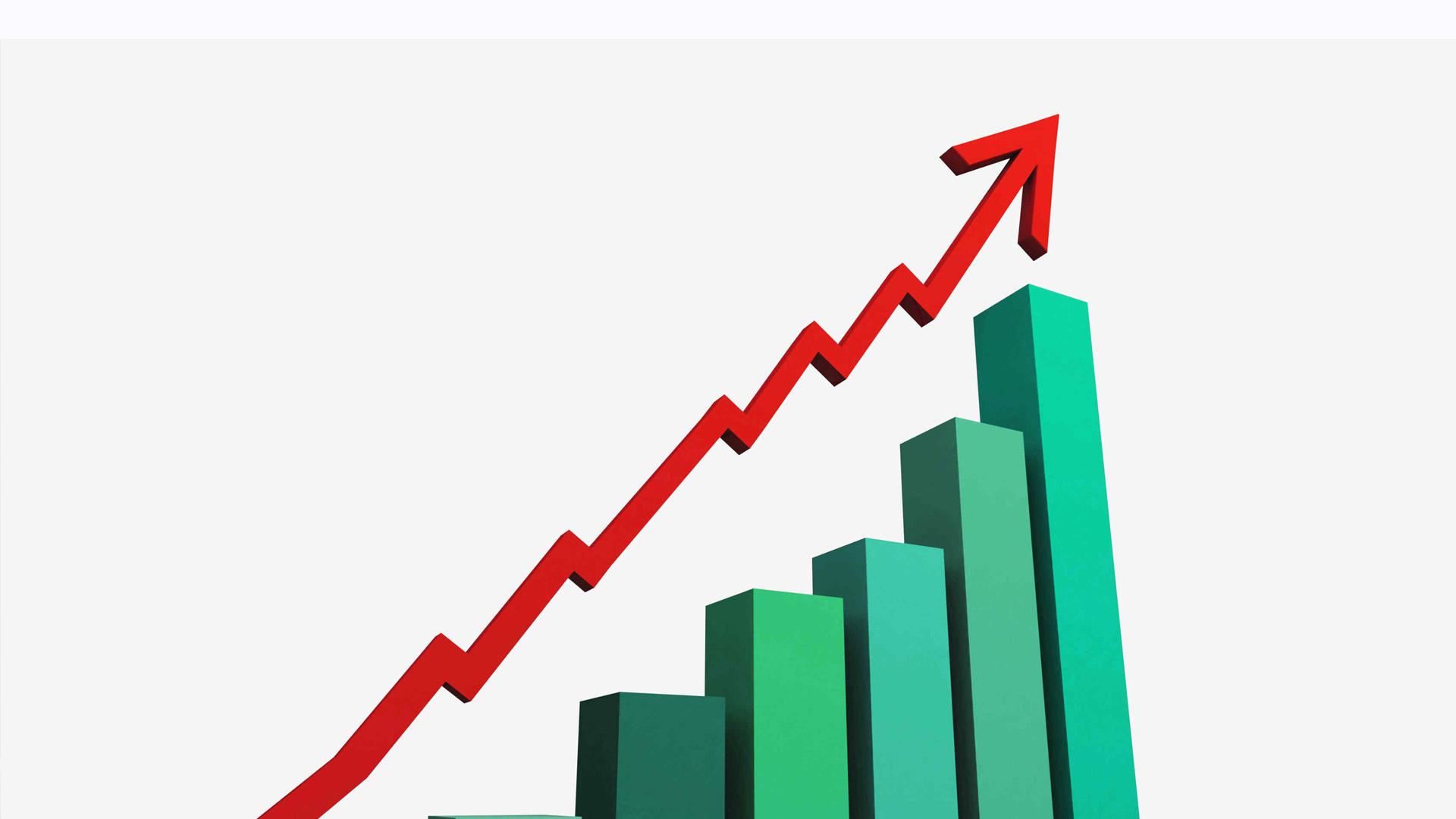 El aumento fue de un 2,9%, con respecto a los indicadores del año pasado