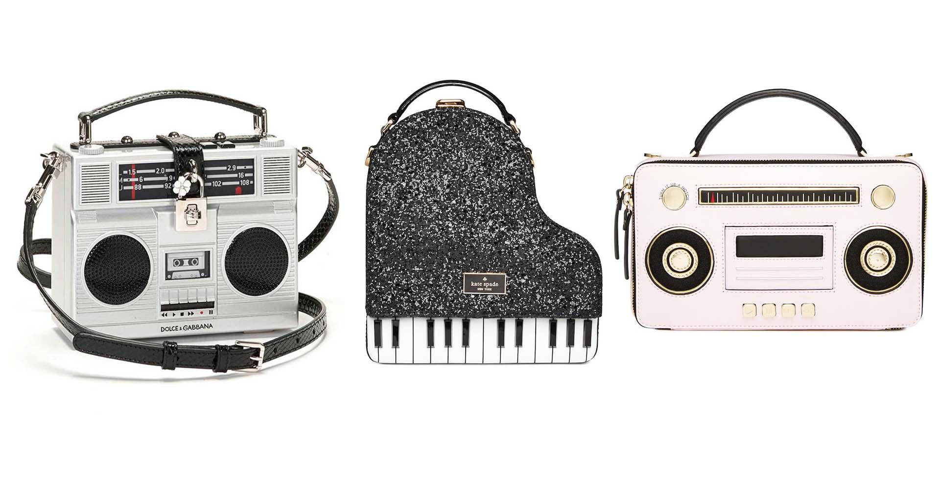 La cartera es el accesorio infaltable de una mujer y sin duda estos diseños que homenajean a la música no podrán ausentarse de un outfit lleno de estilo