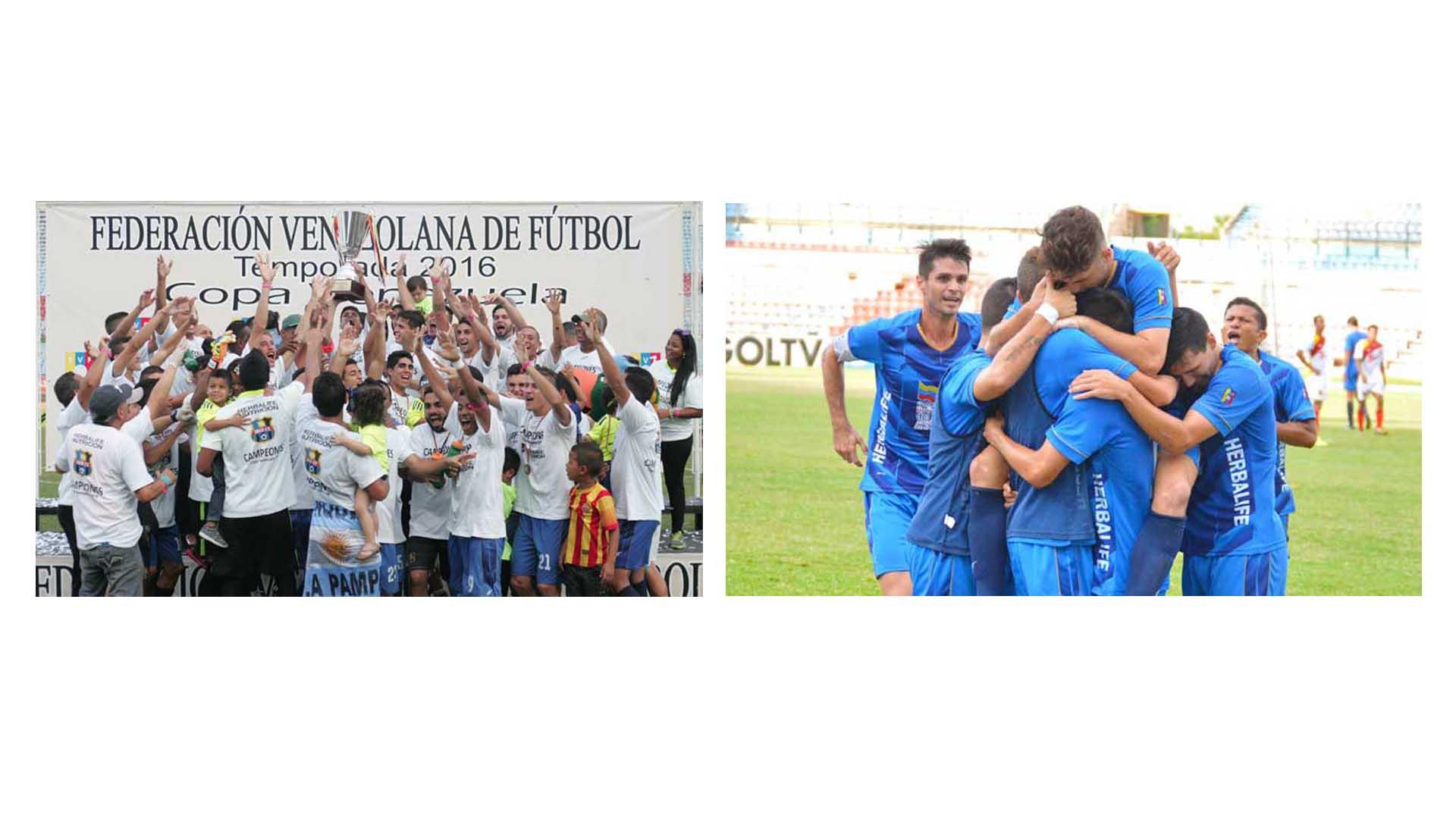 El equipo petrolero es el primero de la región en obtener un campeonato de Copa Venezuela desde su primer encuentro en 2005