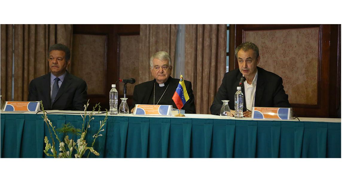 Monseñor Emil Paul Tscherrig, designado por el papa Francisco anunció que el próximo 30 de octubre se llevará a cabo un encuentro entre Gobierno y oposición