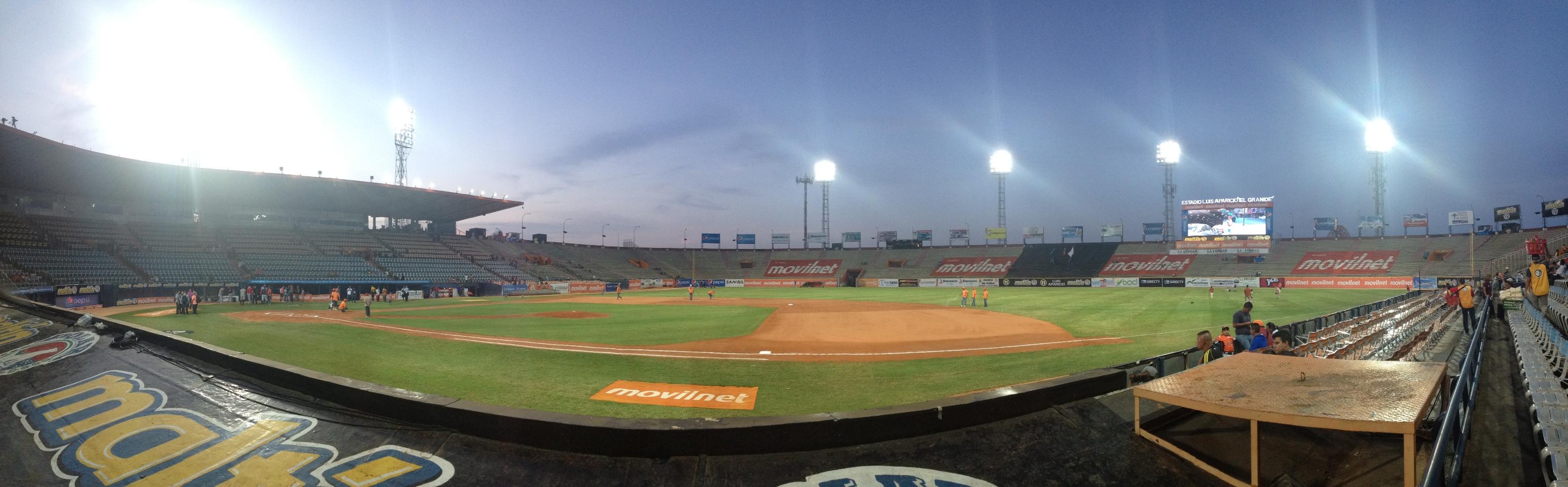 """El estadio Luis Aparicio """"El Grande"""" se convirtió en el primer """"Ecoestadio"""" del país como parte de una iniciativa ecologica donde los desechos de cada partido podrán ser reciclados"""