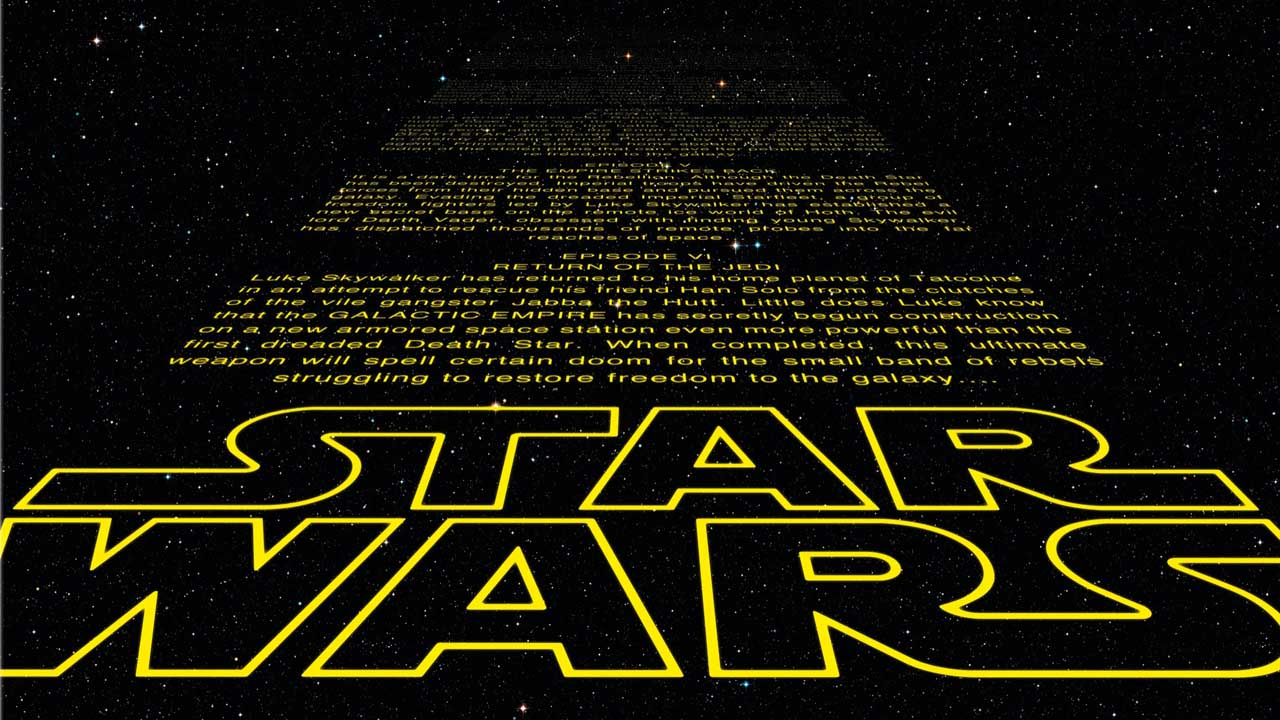 La clásica entrada de las películas de Star Wars no estará presente en esta nueva entrega