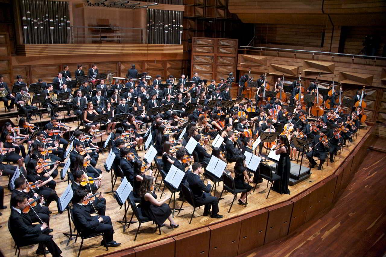 El Sistema Nacional, conjuntamente con los Coros Juveniles e Infantiles de Venezuela